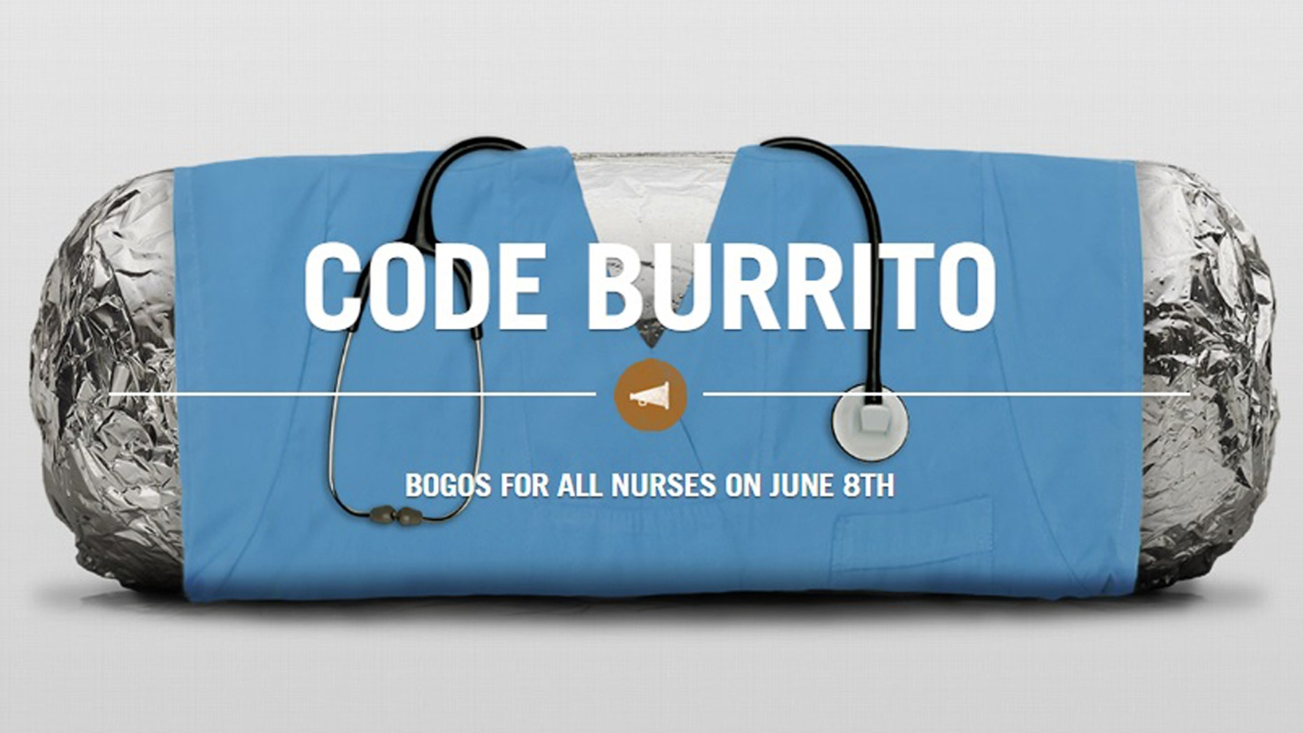 The Mexican-American grill is offering free food to nurses.