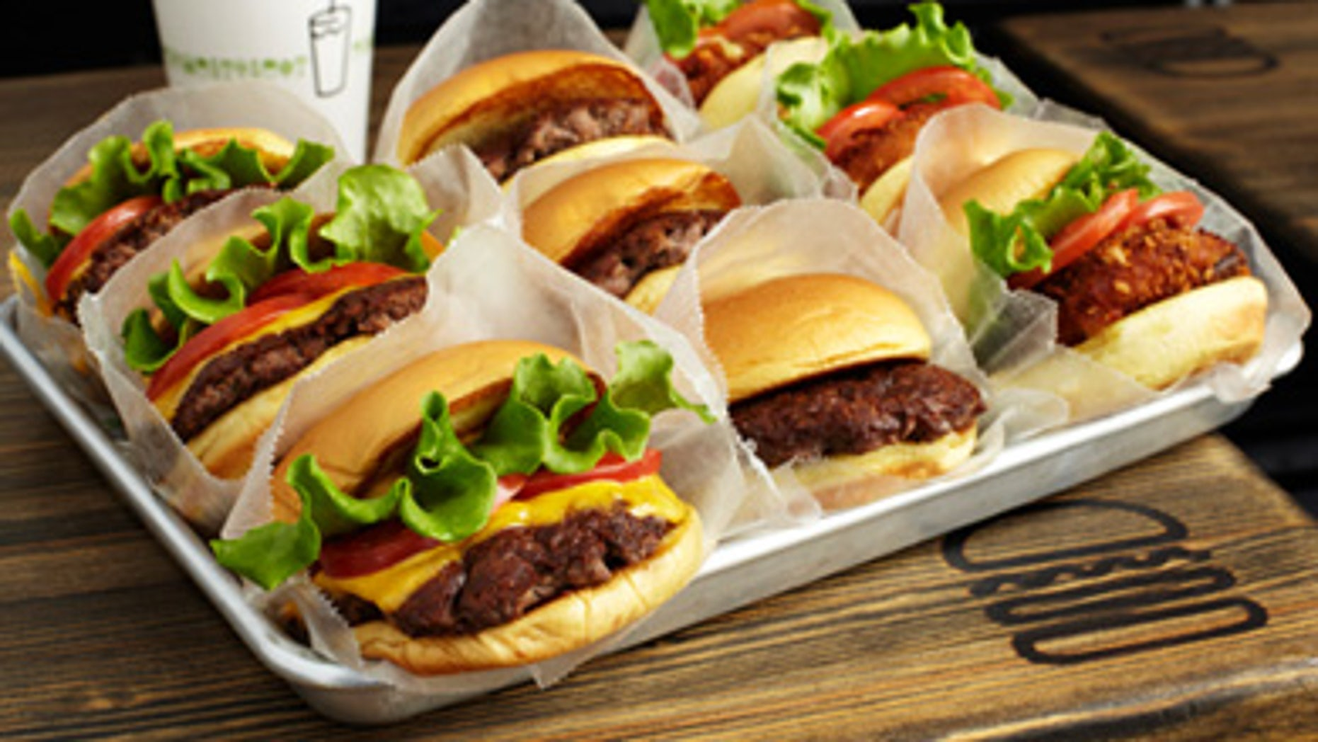 The burgers at Shake Shack are taking the world by storm.