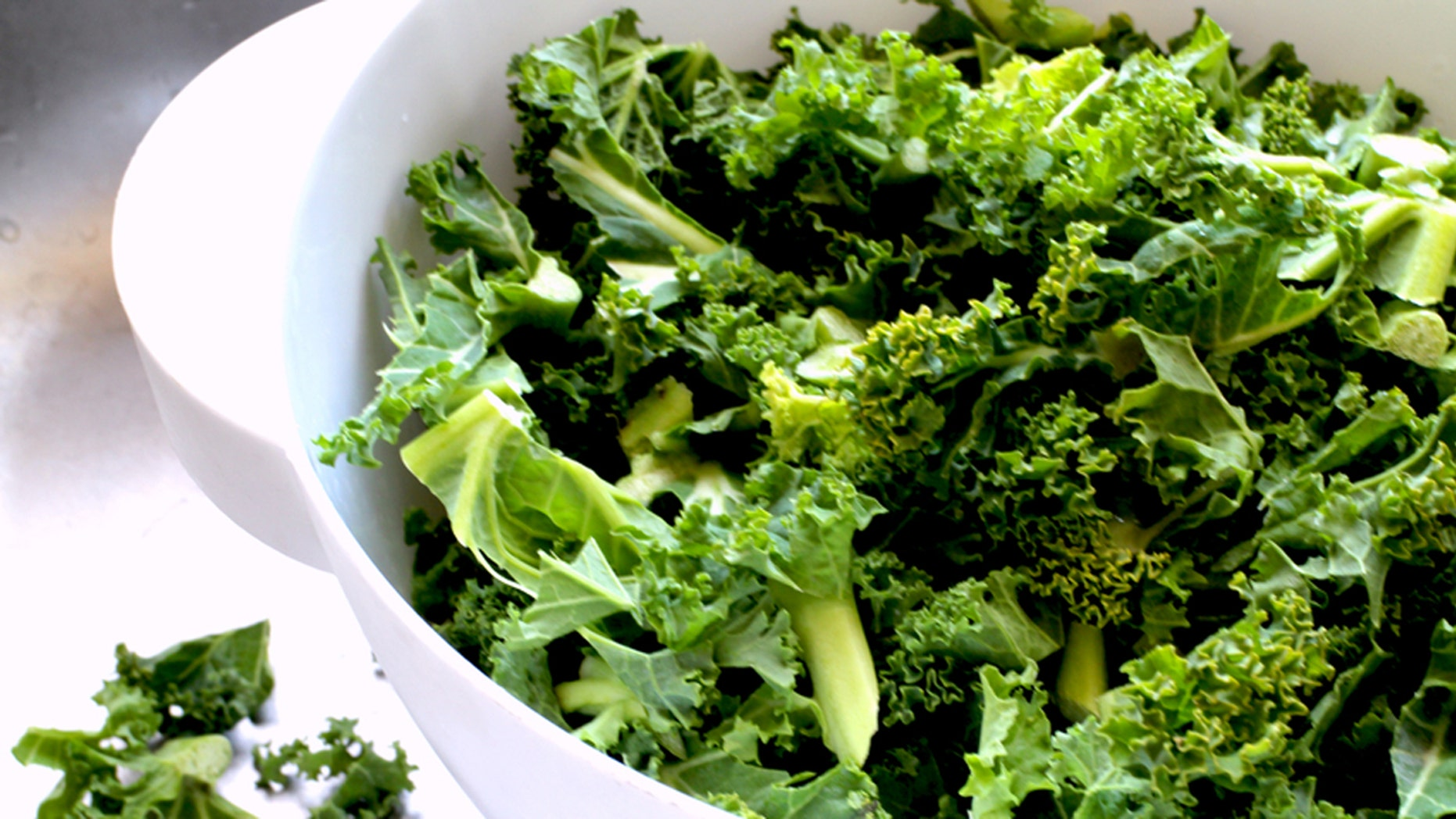 How much kale can you put away?