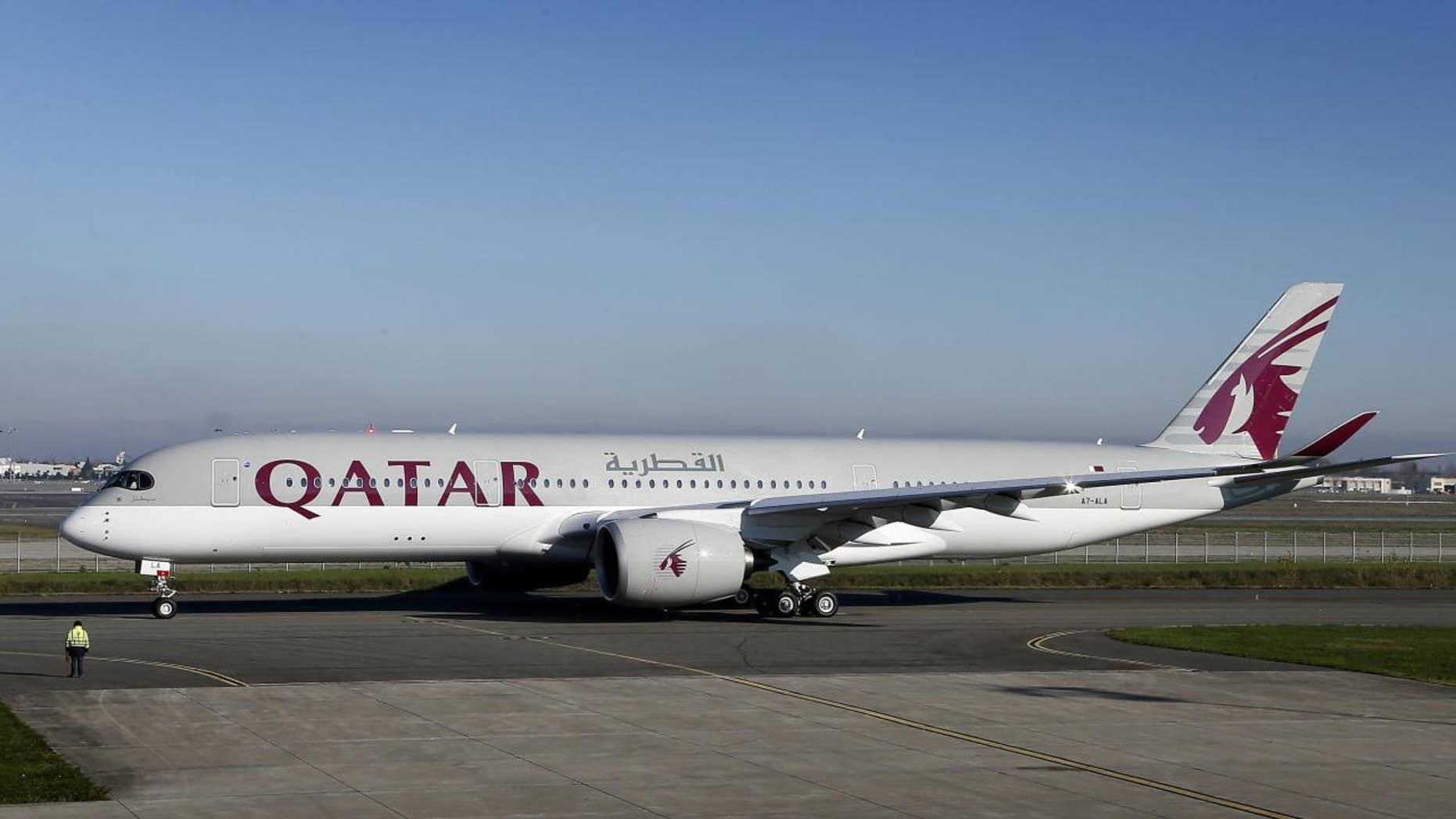 Qatar Airways debuted its newest Airbus A350 in Dec. 2014.