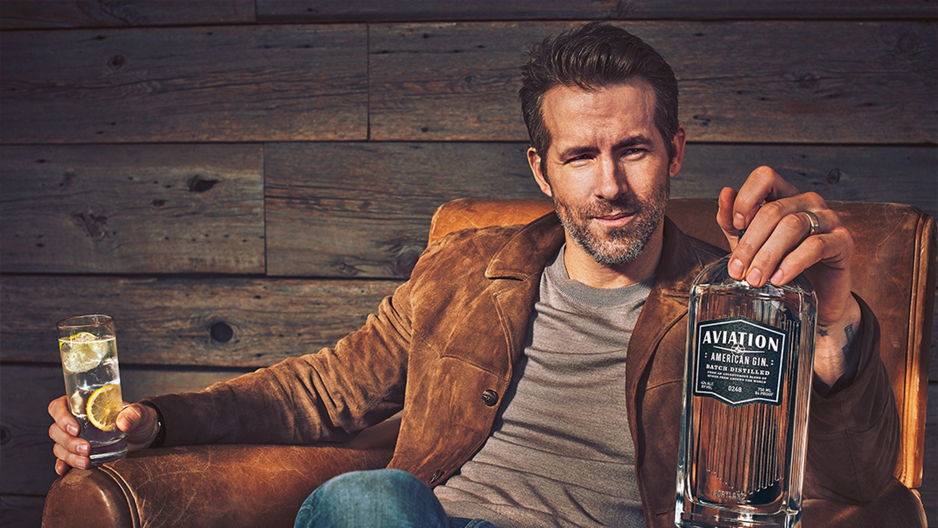 The Deadpool star has taken the reins of a gin company.