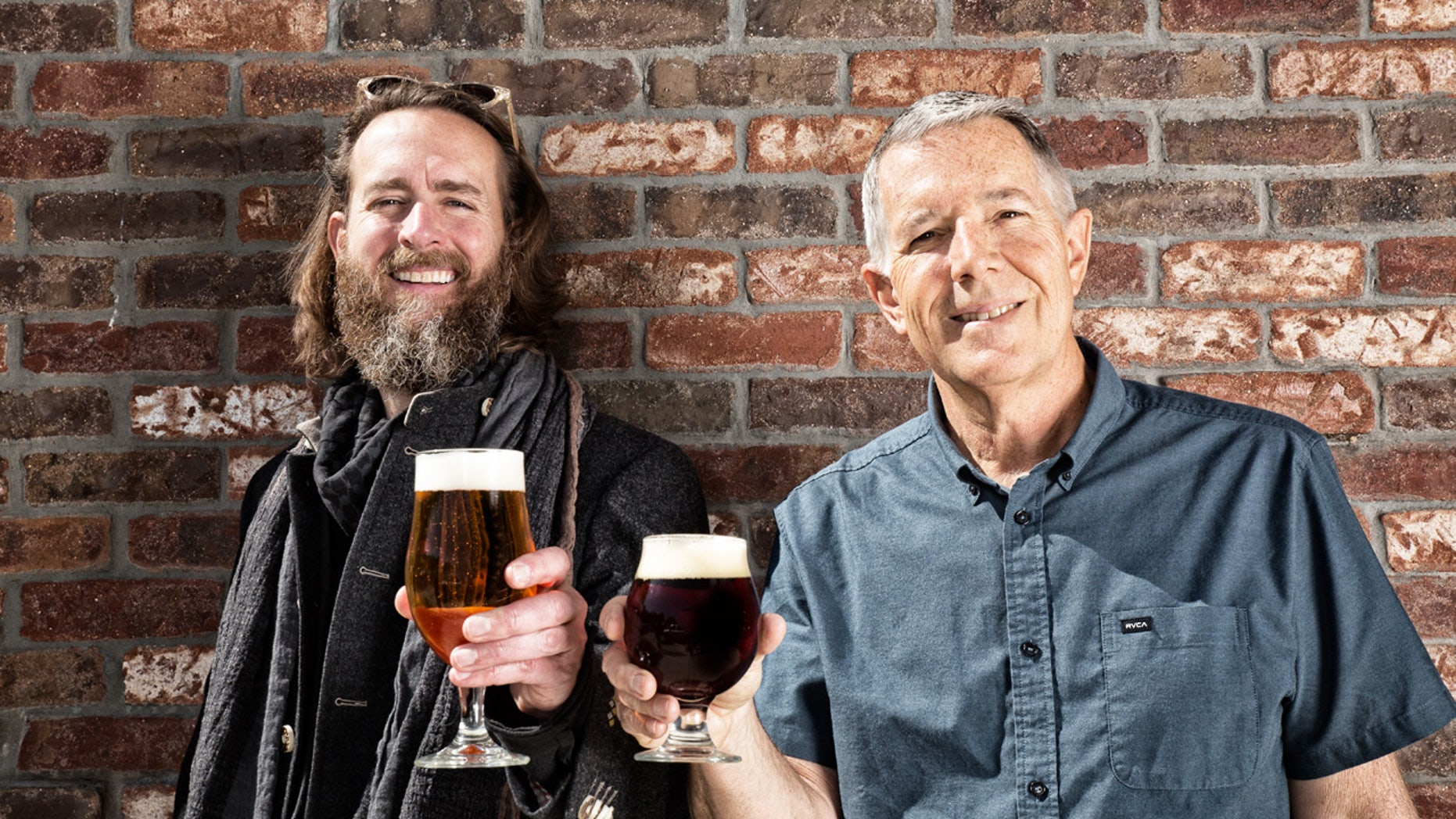 Cheers: Stone co-founders celebrate 20 years in business with ambitious plans for future growth.