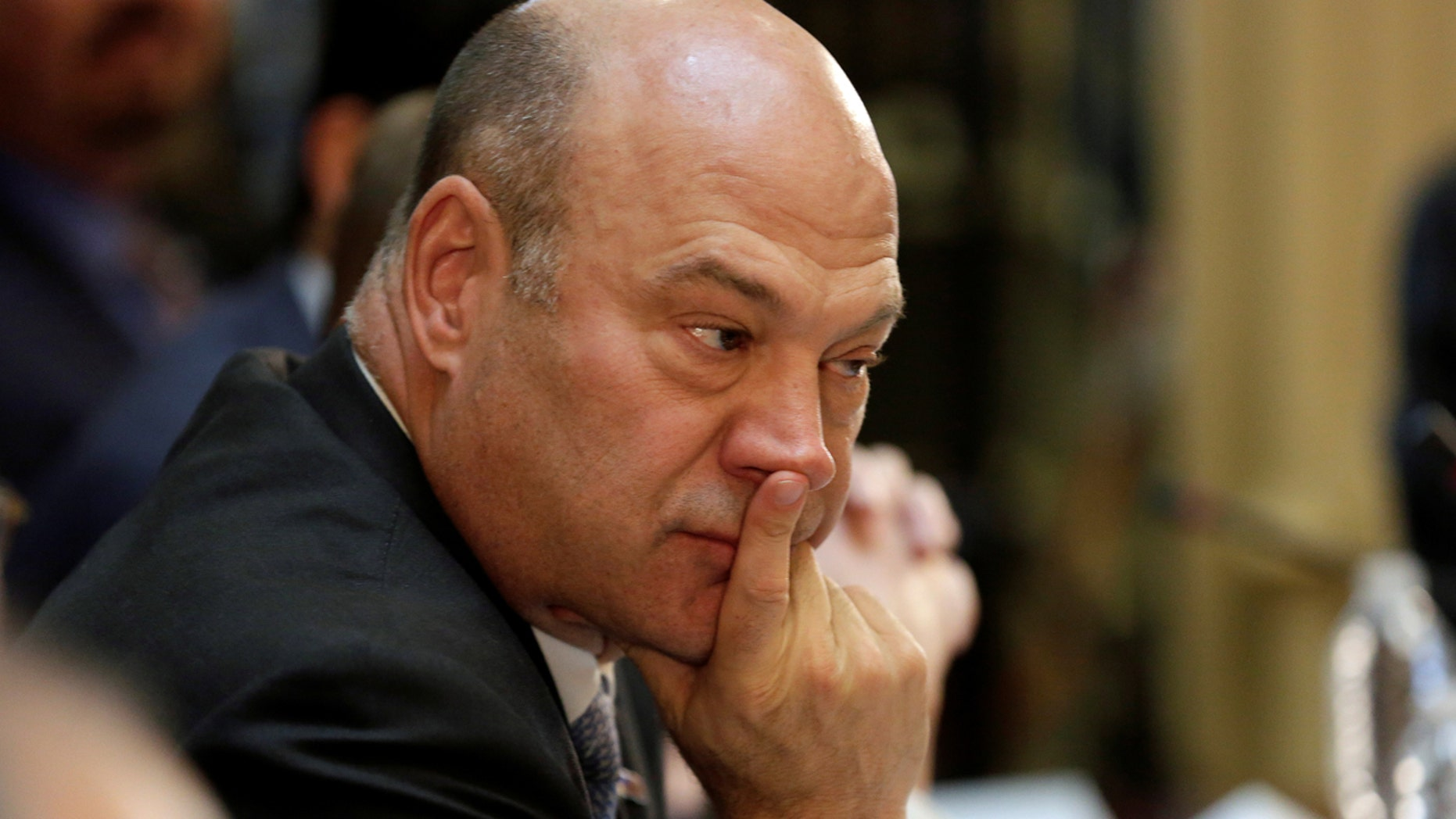 """Gary Cohn, the chief economic adviser to President Trump, reportedly """"seemed receptive to the idea"""" of a gas tax hike."""