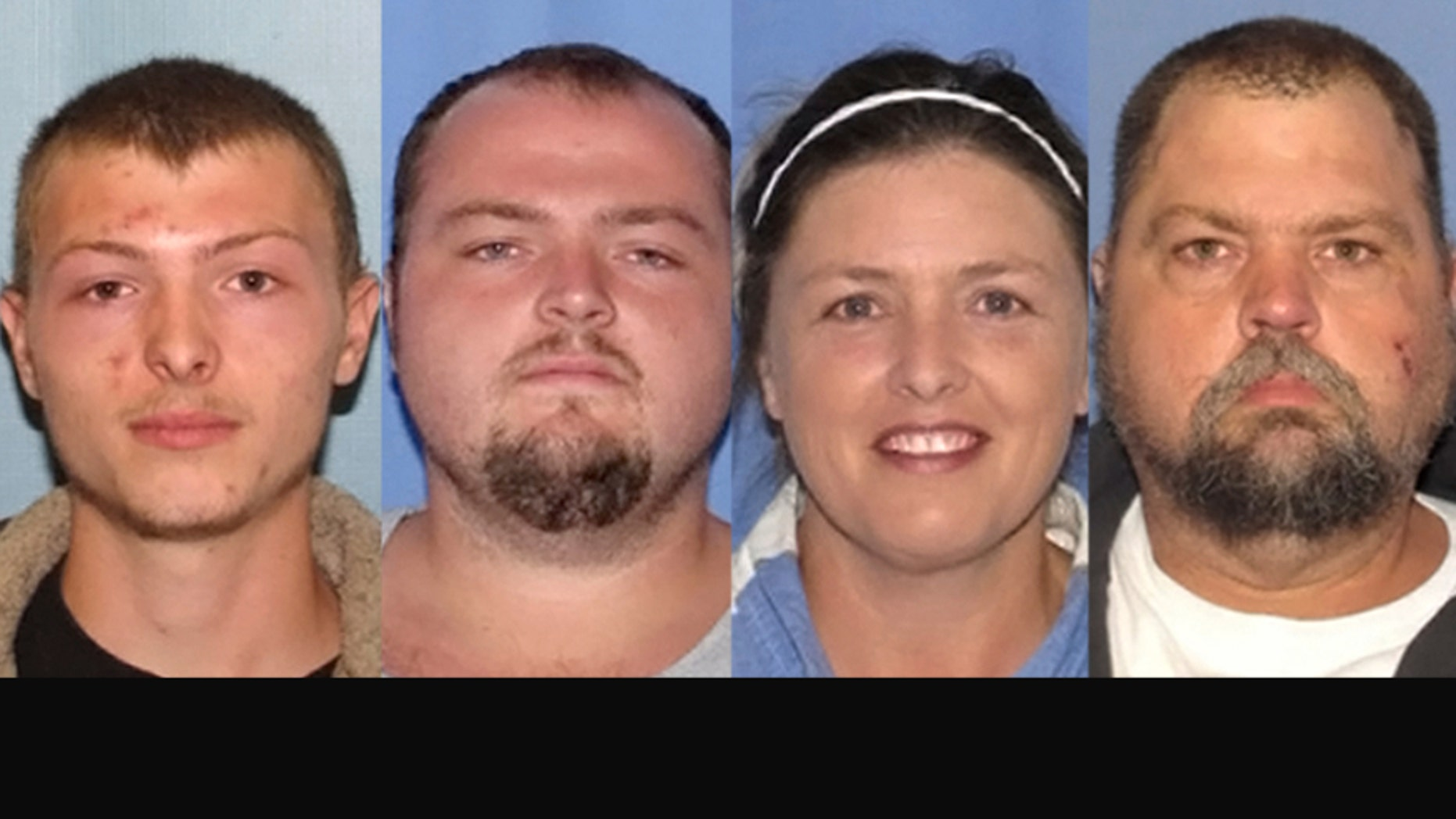 """From left to right: Edward """"Jake"""" Wagner, George Wagner IV, Angela Wagner, and George """"Billy"""" Wagner III."""