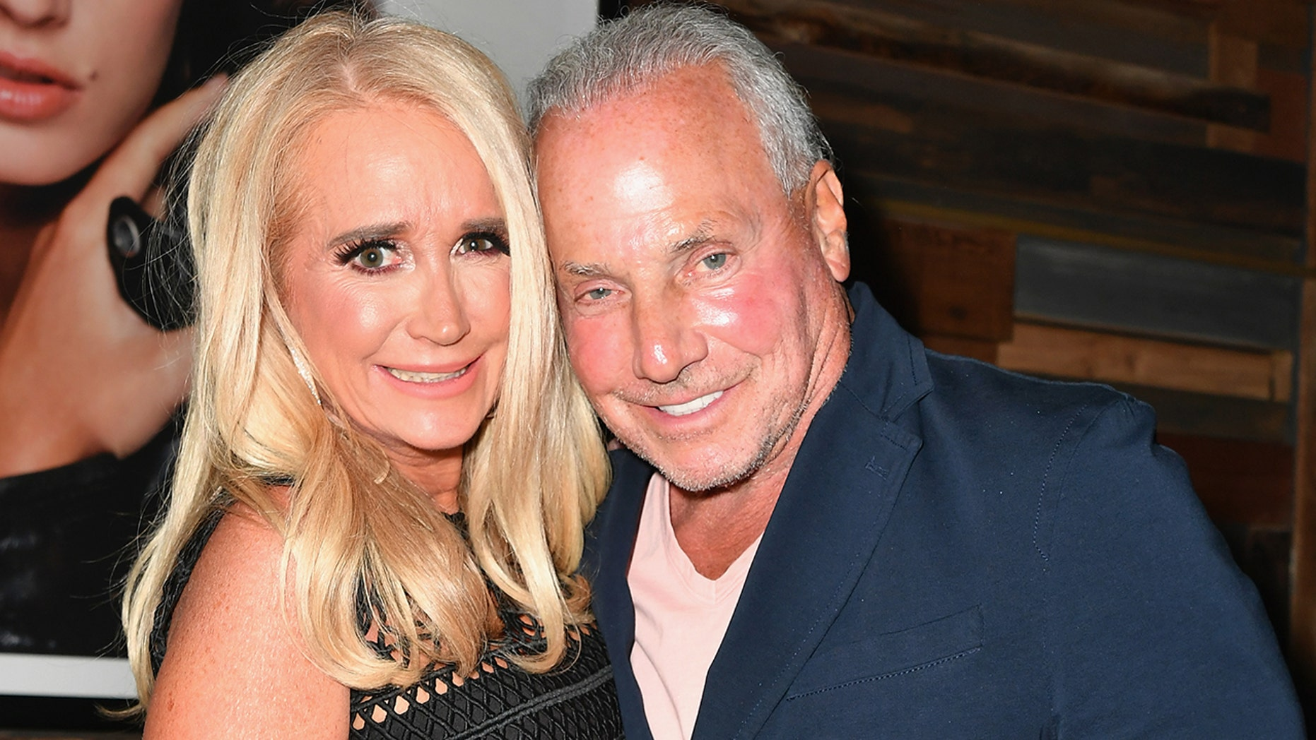 "WEST HOLLYWOOD, CA - AUGUST 28:  Kim Richards (L) and Wynn Katz attend the premiere of WE tv's ""Marriage Boot Camp Reality Stars"" at HYDE Sunset: Kitchen + Cocktails on August 28, 2018 in West Hollywood, California.  (Photo by Earl Gibson III/Getty Images for WE tv )"