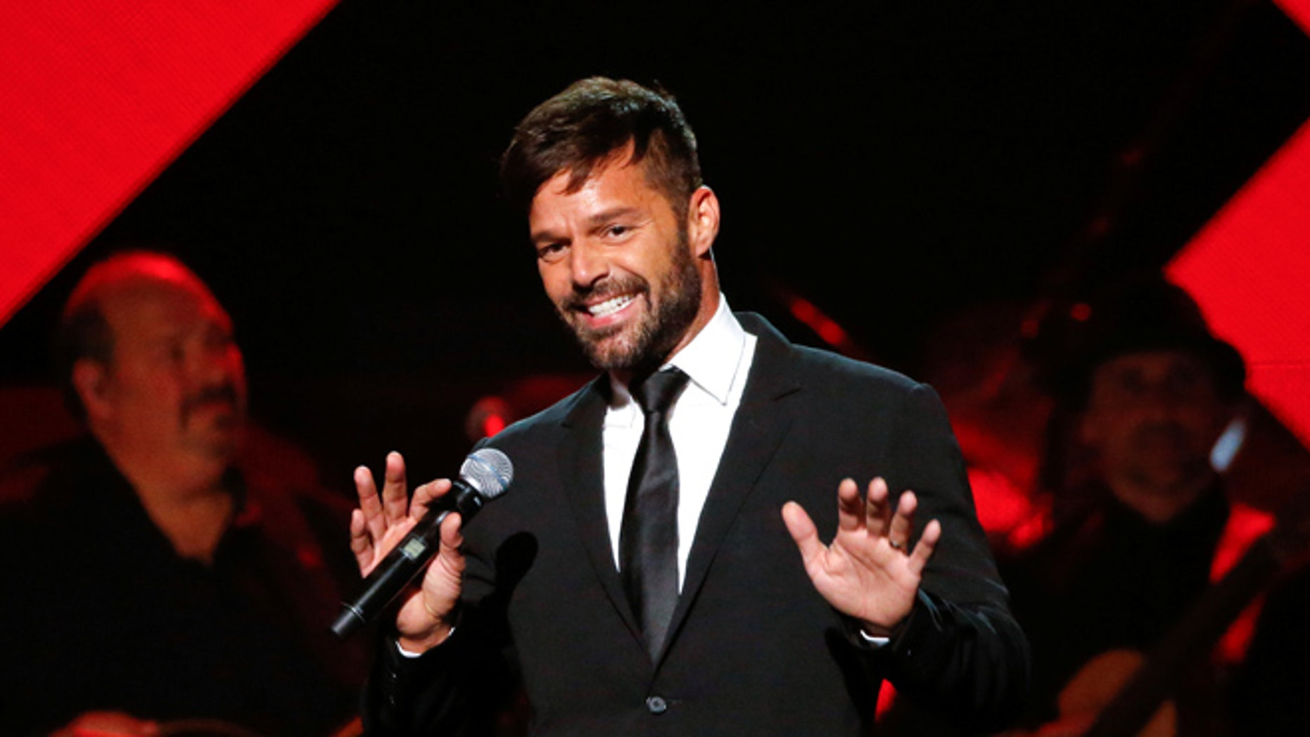 Ricky Martin thanked fans for their support following the hospitalization of his father.