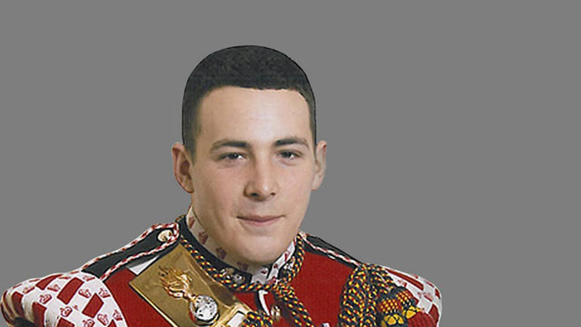 May 23, 2013 - FILE photo of Lee Rigby, member of the British armed forces who was attacked and killed in Woolwich, London.