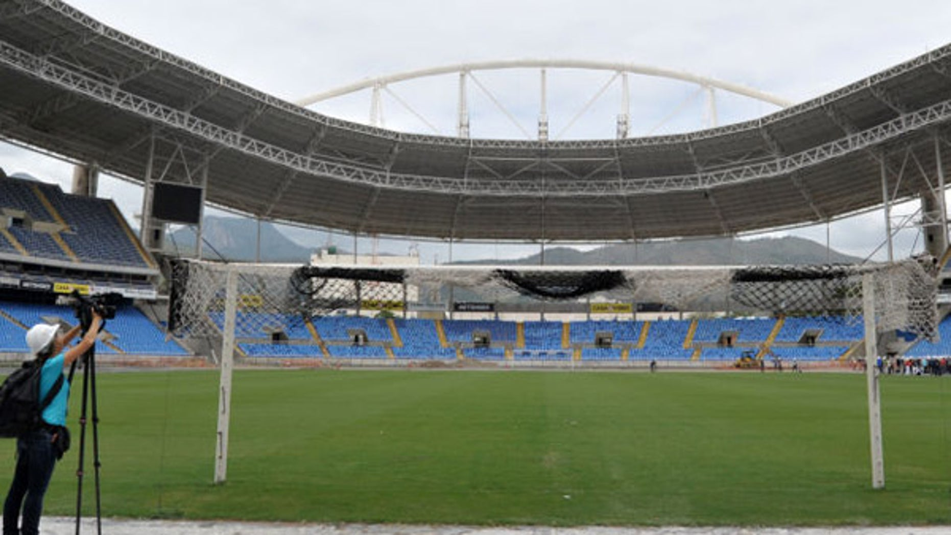 Rio's track and field stadium.