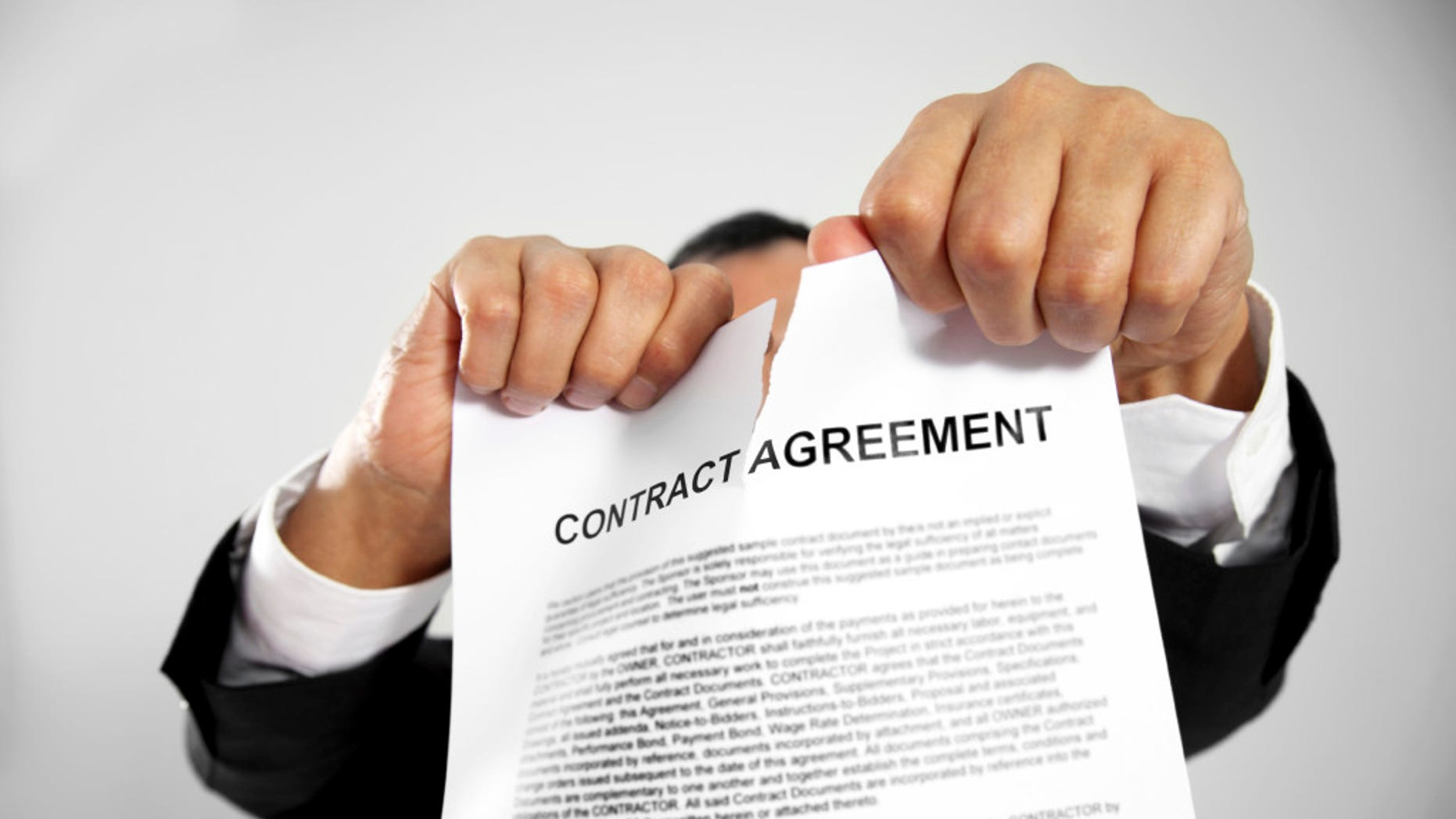 Sometimes you need to scrap a contract and start over.
