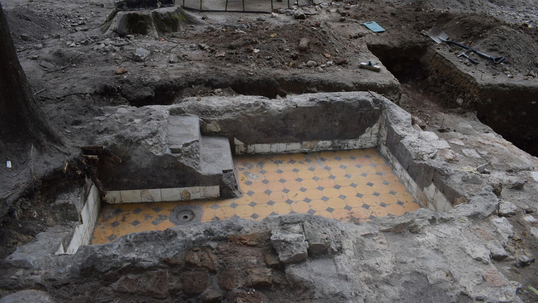 The excavation site (Jon Seligman).