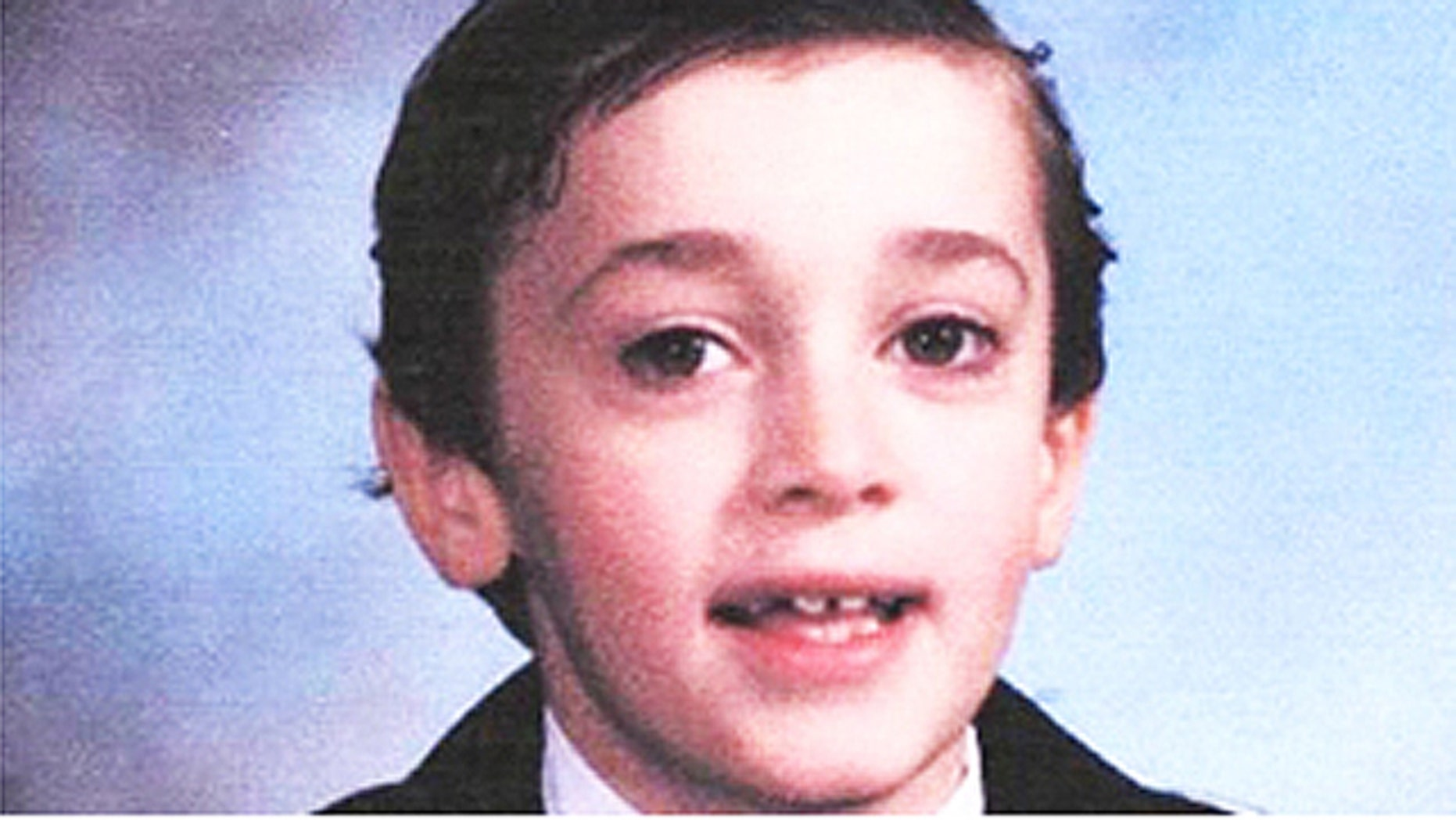 San Bernardino County sheriff's spokeswoman Cindy Bachman said 8-year-old Joshua Robb ran out of the gates of Grandview Elementary School's playground in Arrowhead at about 11 a.m. Monday.