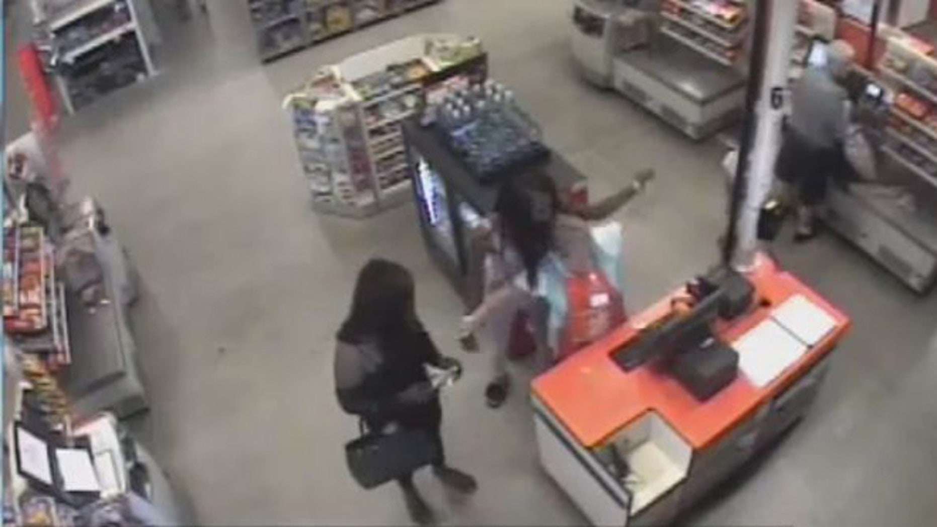 Detectives say Omar McCrae and Malik Taylor were dressed as women when they robbed a Lakeland Home Depot back in June, stealing hundreds of dollars' worth of gift cards.