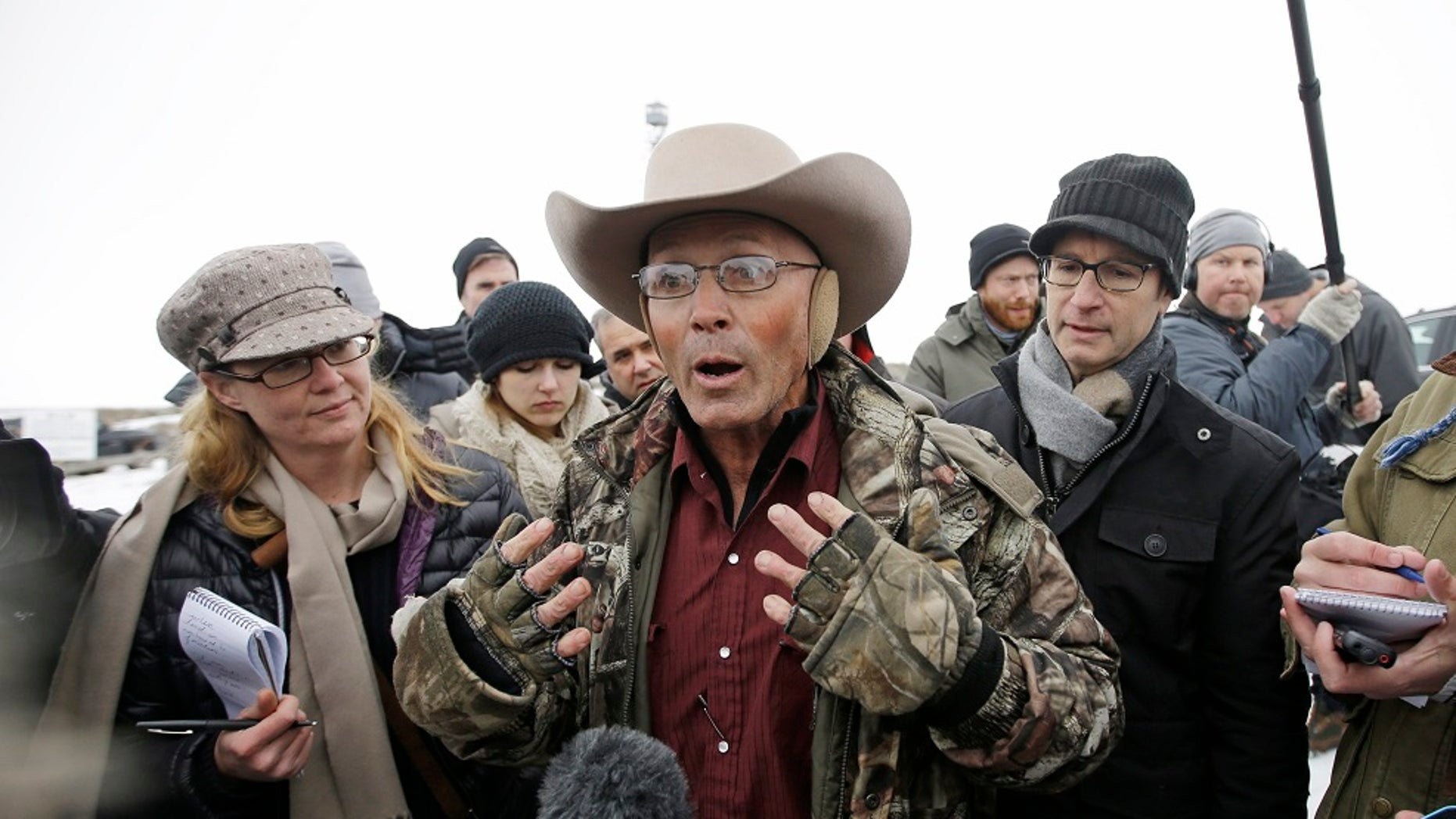 """Arizona rancher Robert """"LaVoy"""" Finicum was shot and killed in January 2016 when officers arrested leaders of an armed occupation of a federal wildlife refuge in Oregon. An FBI agent is reportedly being indicted for lying about shooting Finicum."""