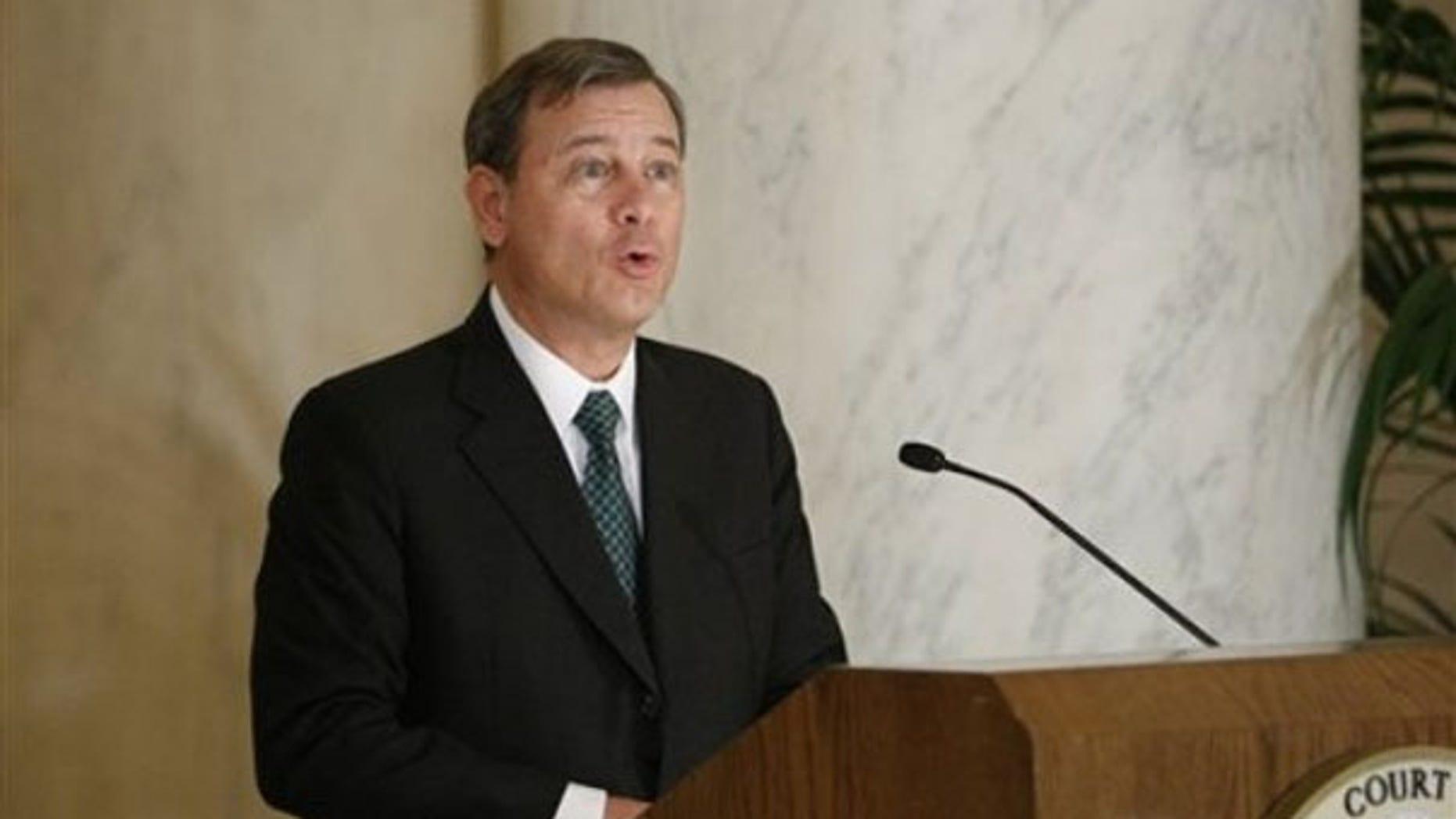 FILE: Chief Justice John Roberts (AP Photo)