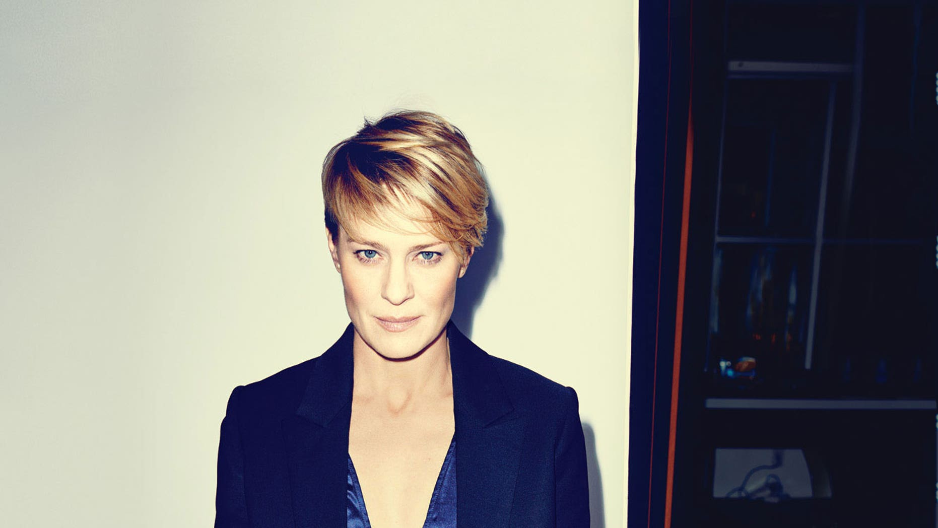 Robin Wright poses for Details.