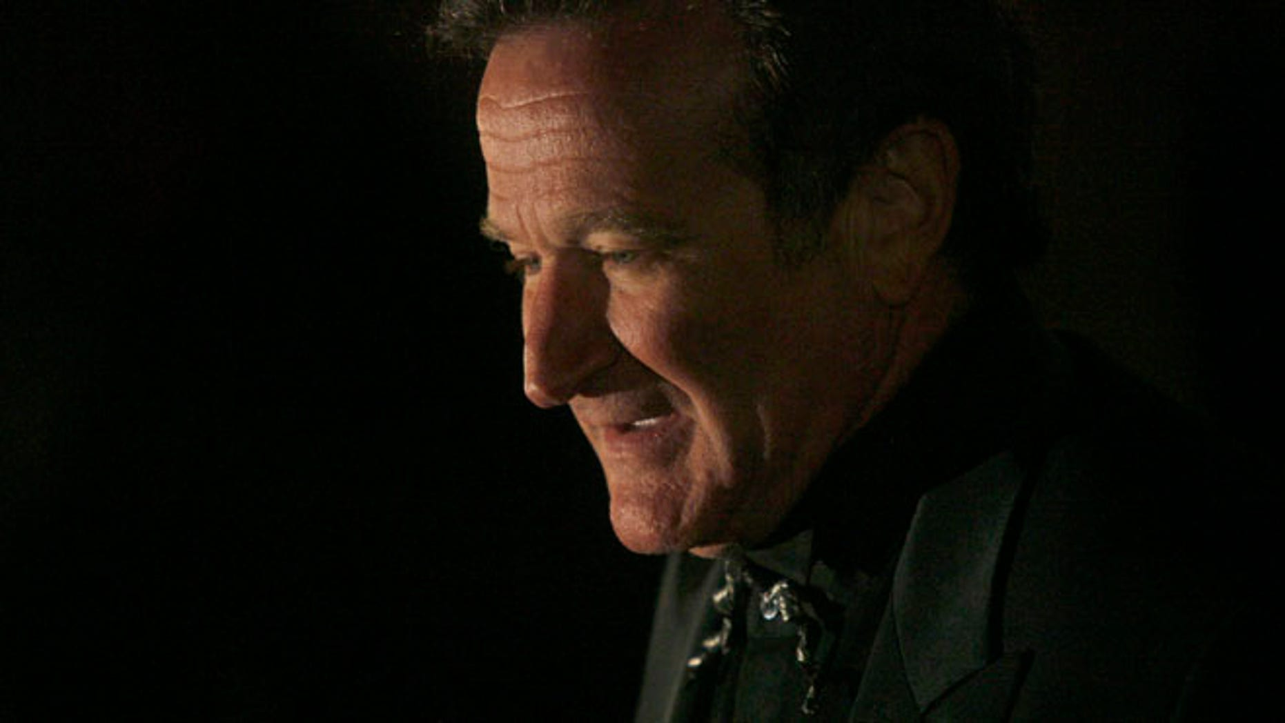 Mar. 24, 2007: Actor Robin Williams arrives at singer-songwriter Elton John's 60th birthday party in New York. (Reuters)