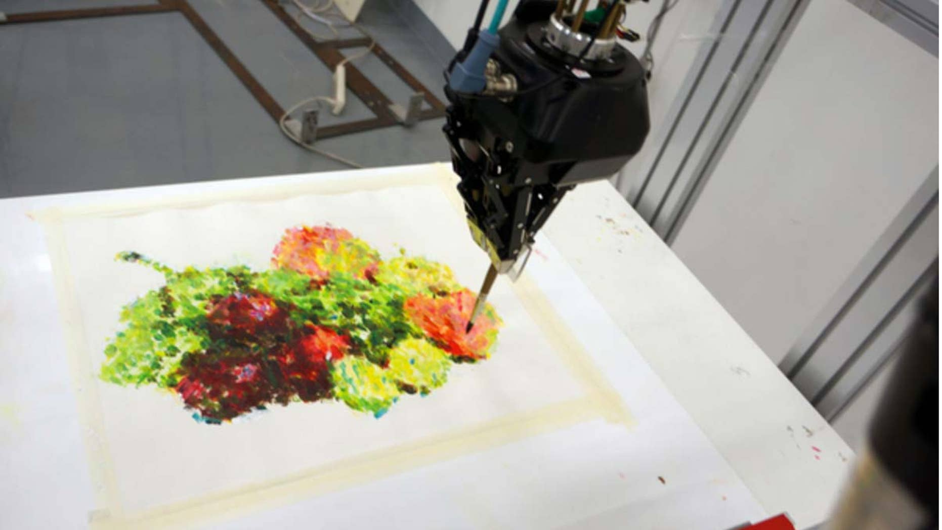 The TAIDA robot won the competition by painting a still life of a bowl of fruit in a classical style.