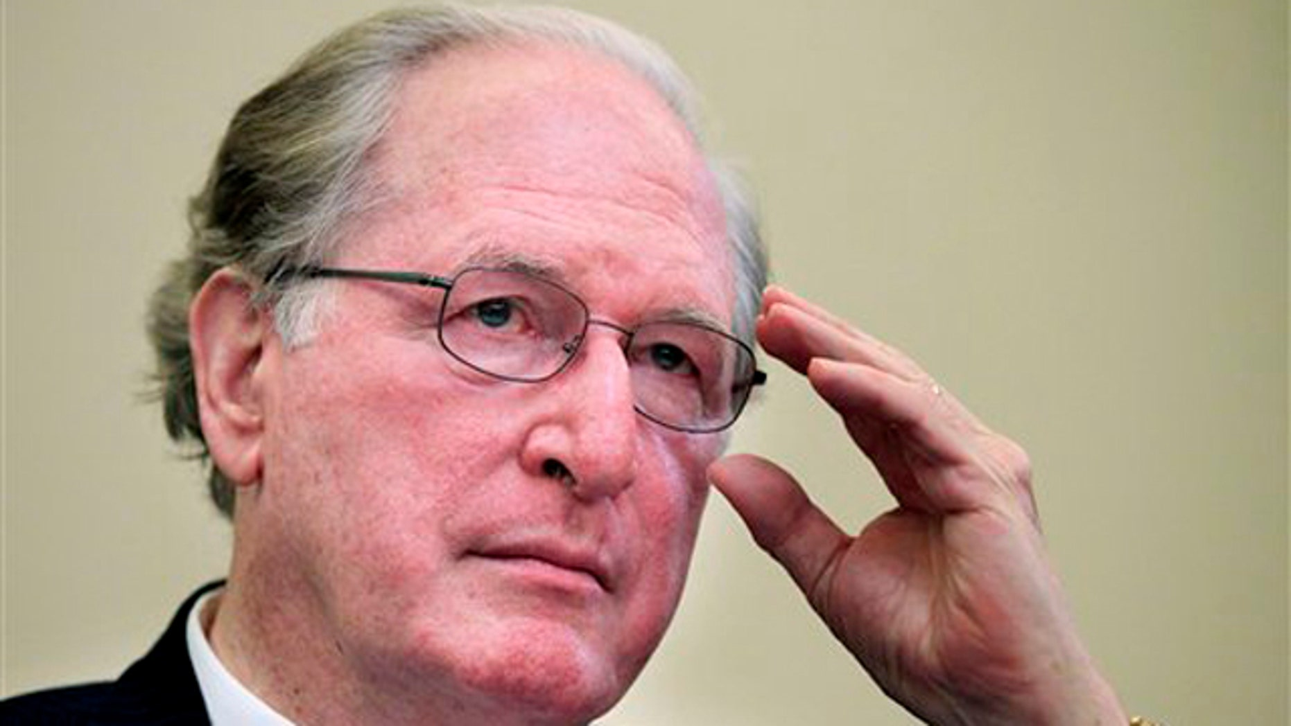 Sen. Jay Rockefeller is shown at a hearing on Capitol Hill in Washington July 13.