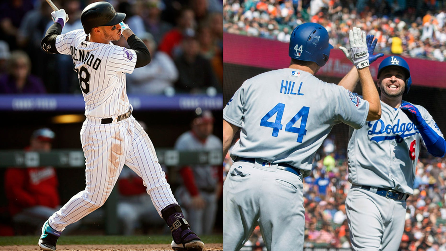 The Colorado Rockies and Los Angeles Dodgers will meet on Monday to decide the National League West title.
