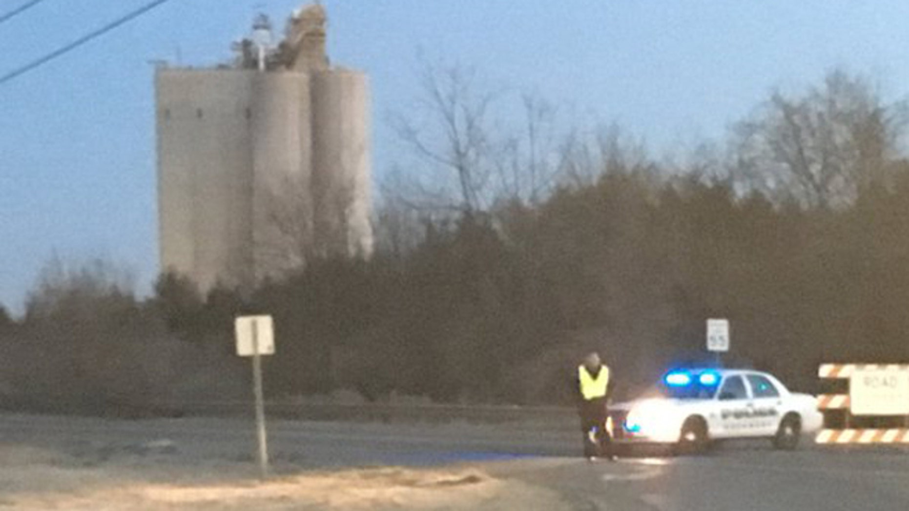 One died in an explosion early Sunday at JCG Farms in Rockmart, Georgia. (Fox 5 Atlanta)