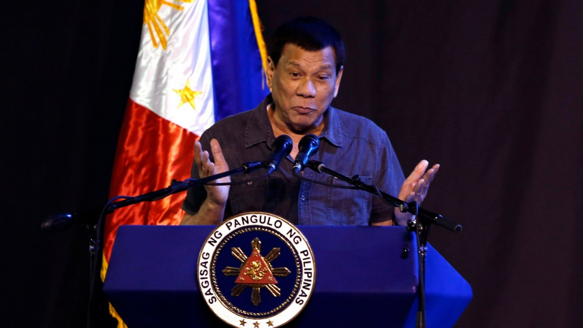 "Rodrigo Duterte was criticized for a ""joke"" he made about rape."