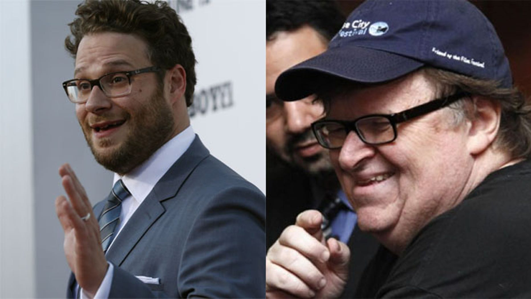 """Michigan restaurant owner Tommy Brann says that Michael More and Seth Rogen are """"not allowed in my place."""""""