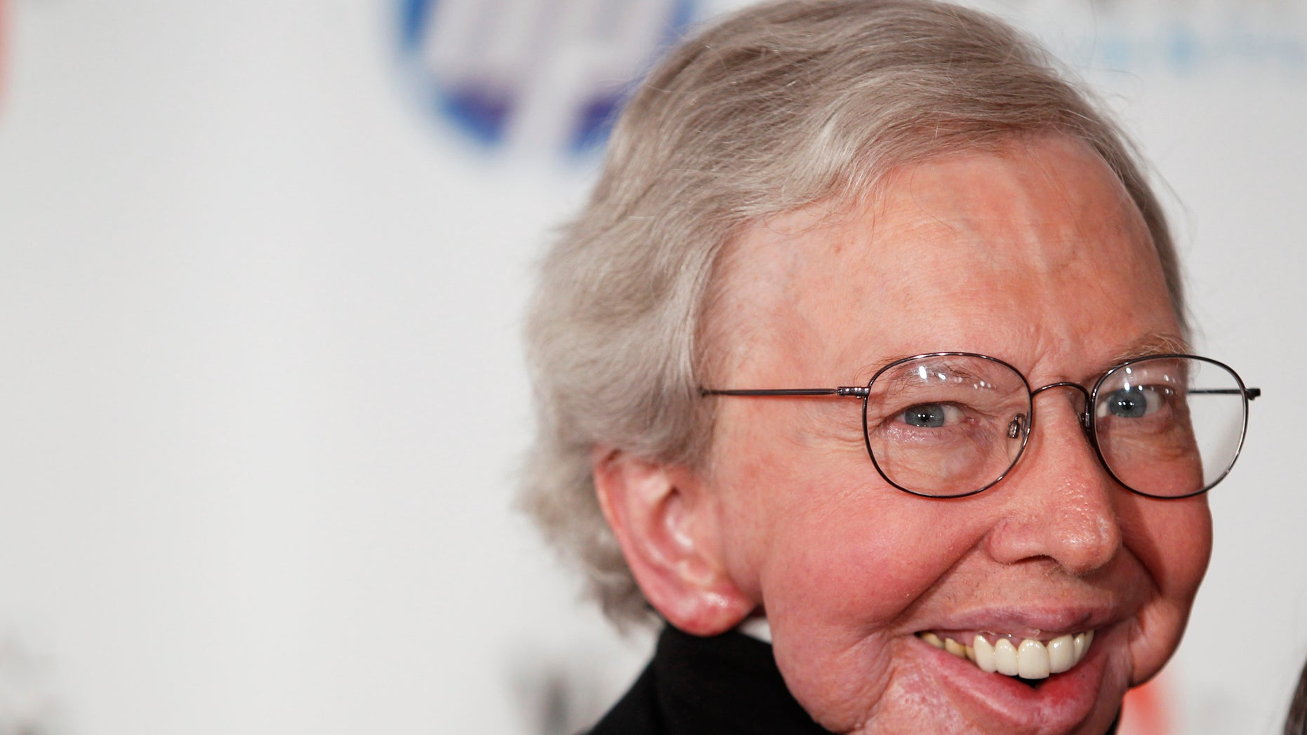 June 14, 2010. Film critic Roger Ebert arrives to attend the Webby Awards in New York.