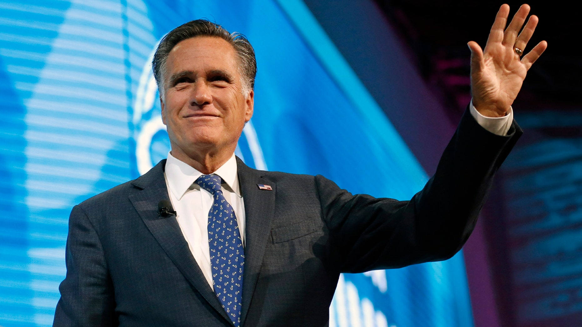 Mitt Romney, at a debate Tuesday night, didn't directly answer when asked if he stood by his previous criticisms of President Trump.