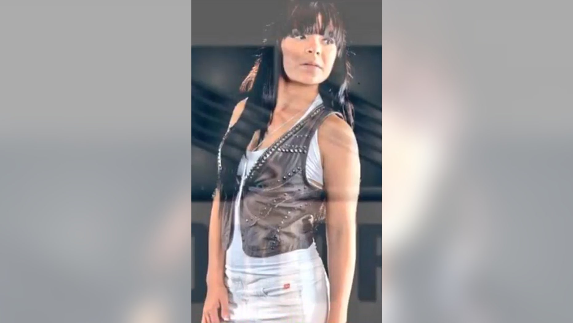 Rosa Otilia Ramirez as an aspiring model (YouTube)