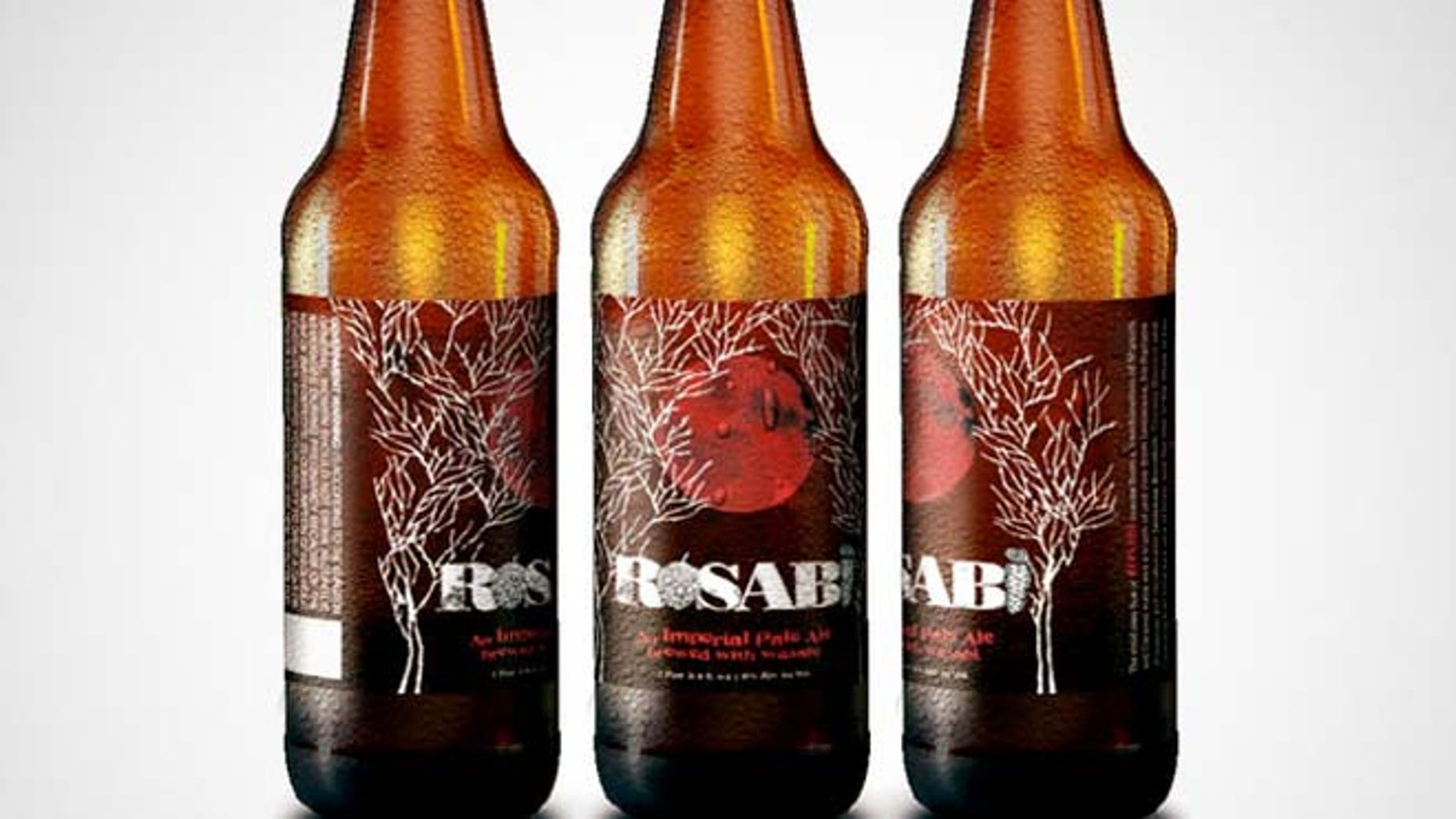 Dogfish Head Craft Brewery will release Rosabi, a new beer infused with wasabi.