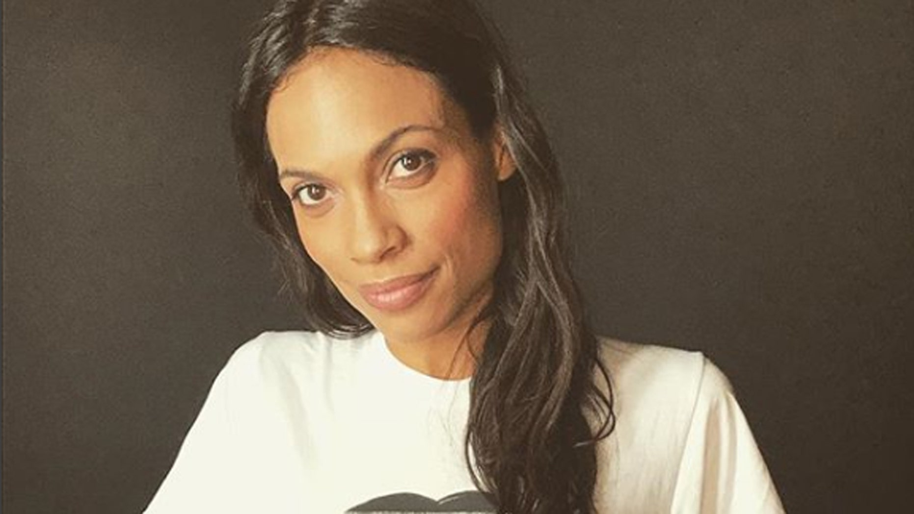 Actress Rosario Dawson shares nude seflies to celebrate her 39th birthday.