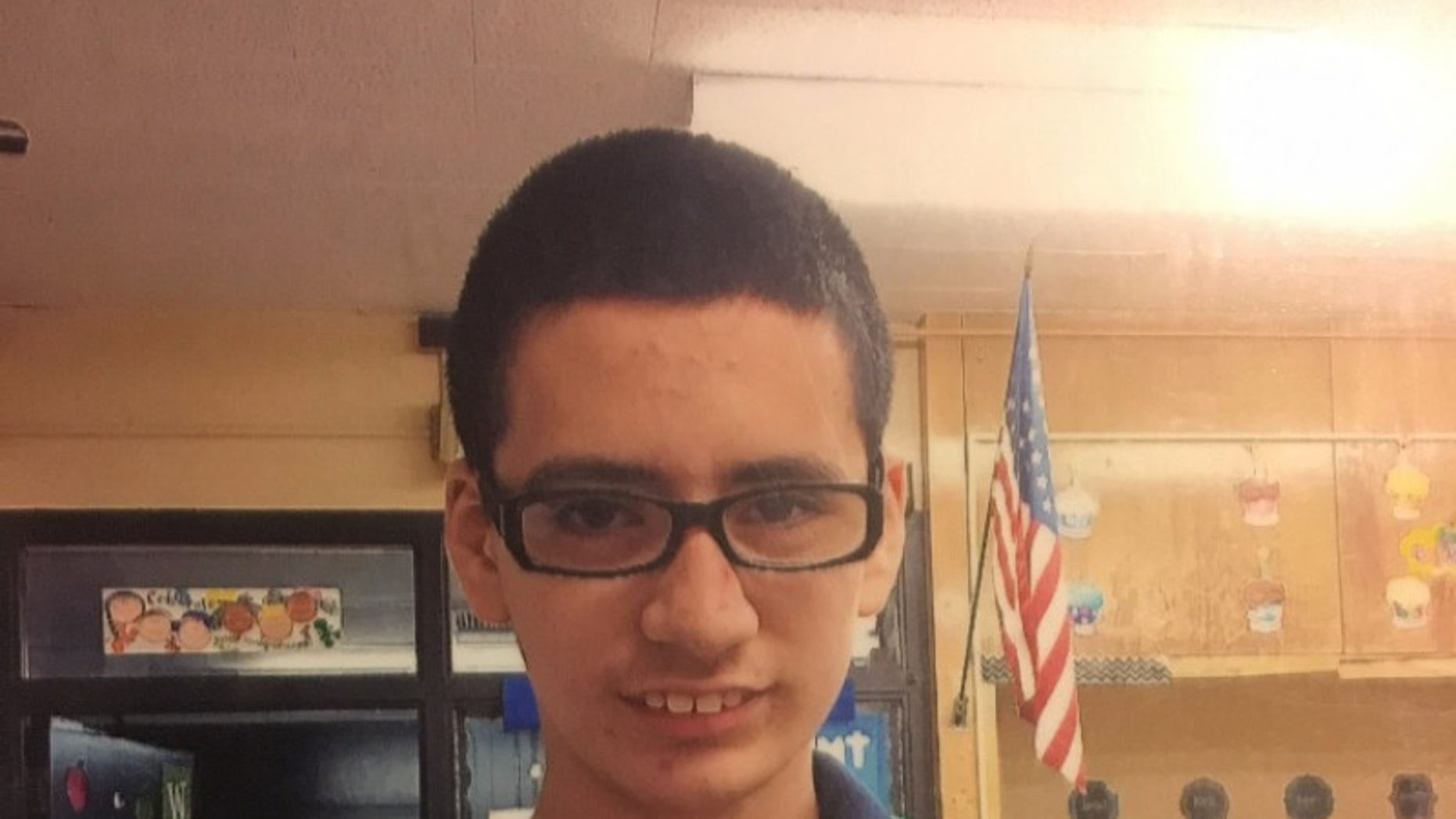 Rosario Gomez, 14, was swimming with his classmates on Jan. 25 when he drowned.