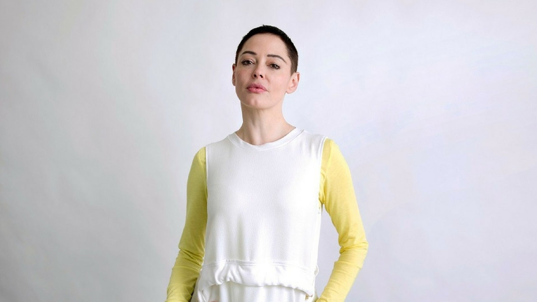 Rose McGowan canceled all public appearances after getting into a shouting match with a transgender woman at a New York City bookstore.