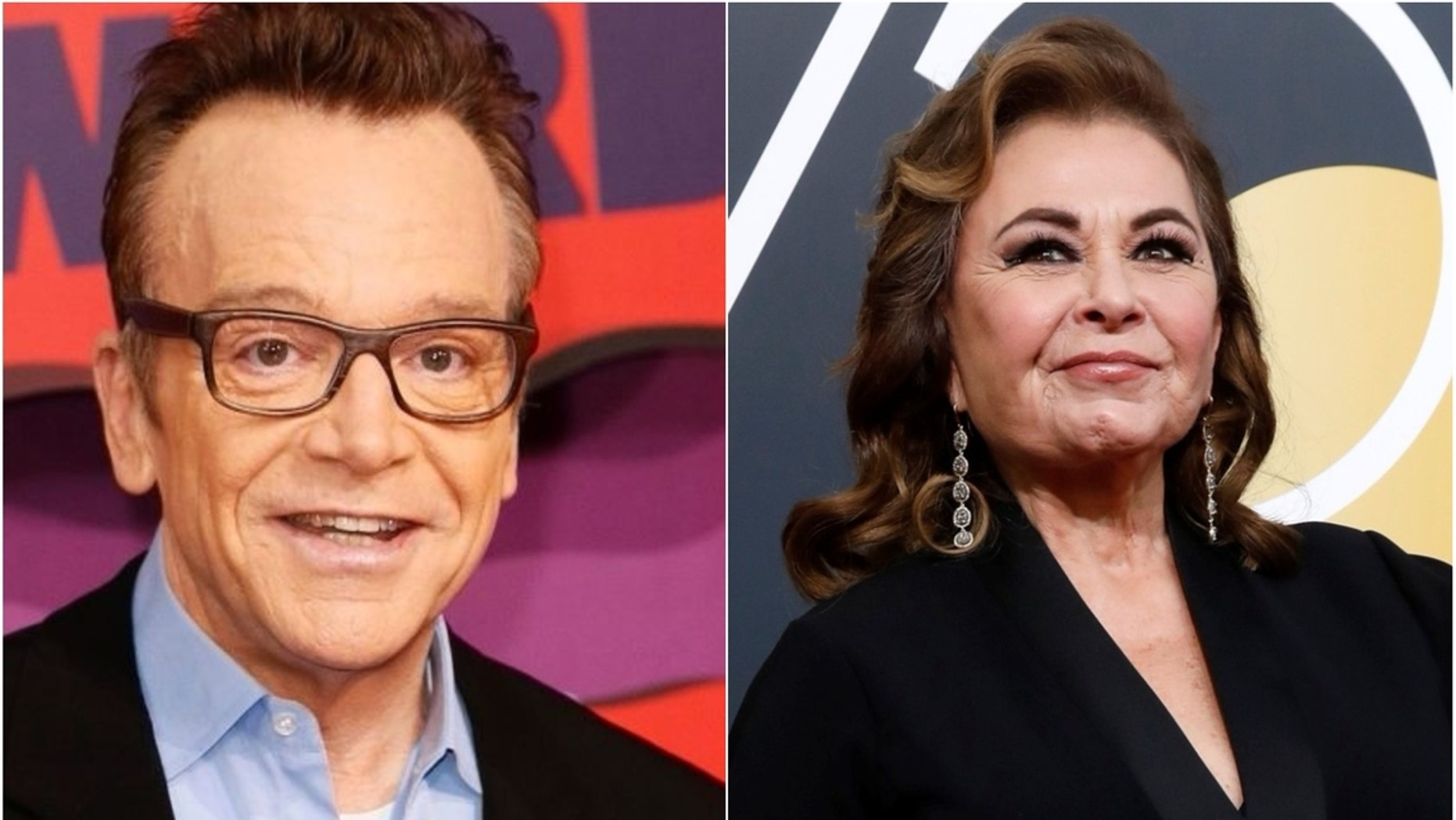 """Tom Arnold is dishing on his ex-wife Roseanne Barr before the """"Roseanne"""" revival is due to premiere."""