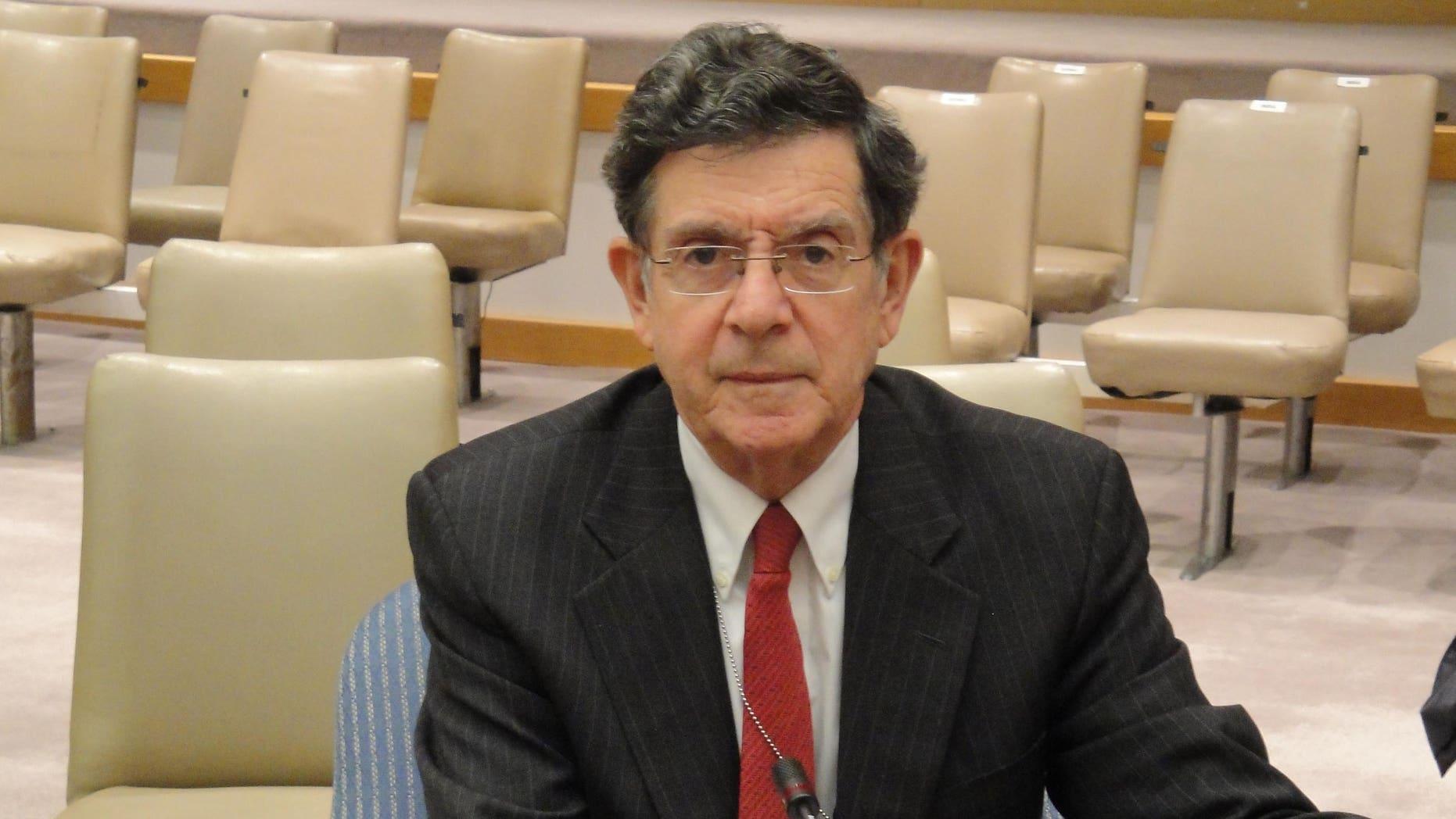 El diplomático veterano Gert Rosenthal, ex canciller bajo la presidencia de Óscar Berge