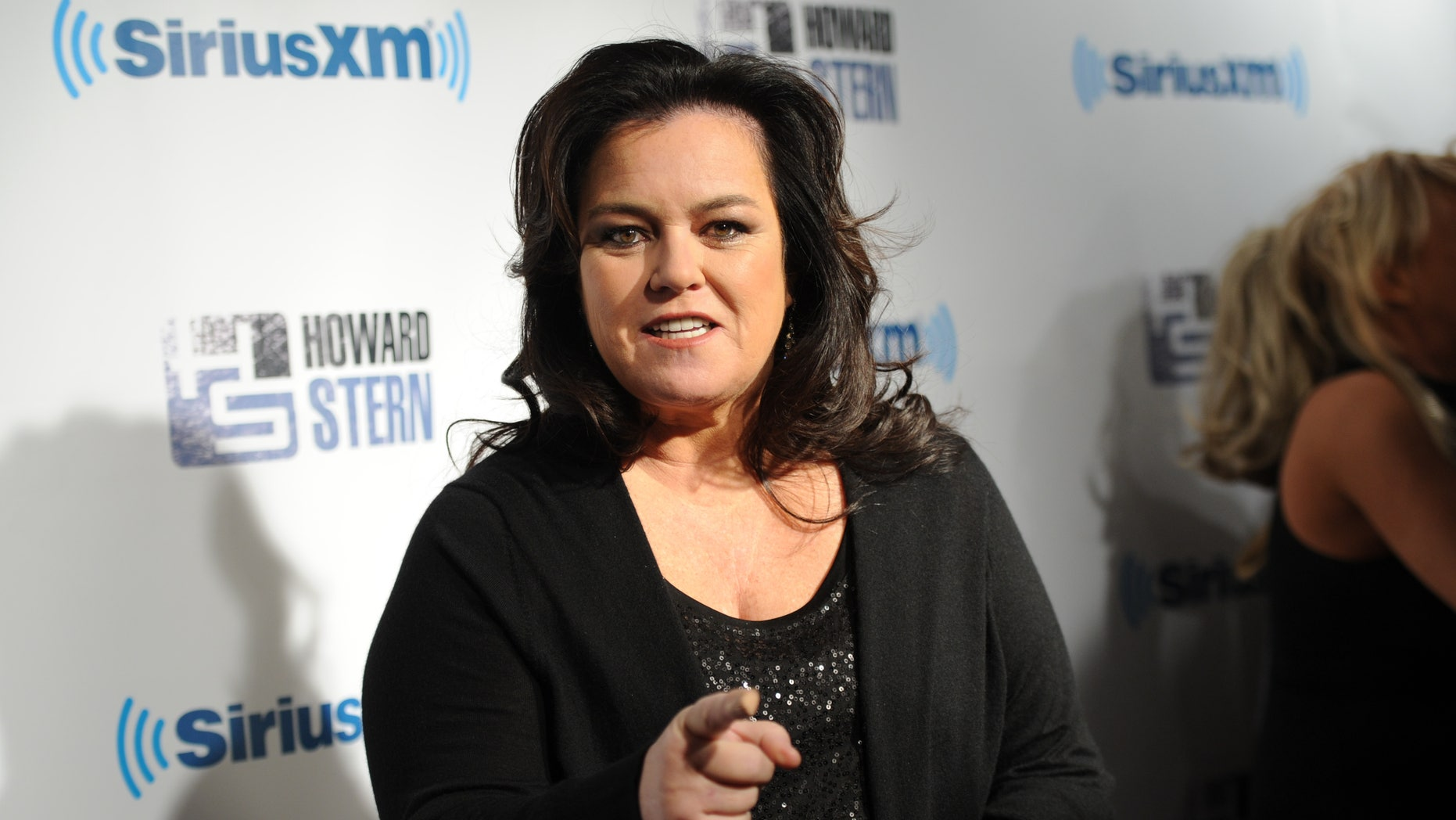 """January 31, 2014. Rosie O'Donnell attends """"Howard Stern's Birthday Bash,"""" at the Hammerstein Ballroom in New York."""