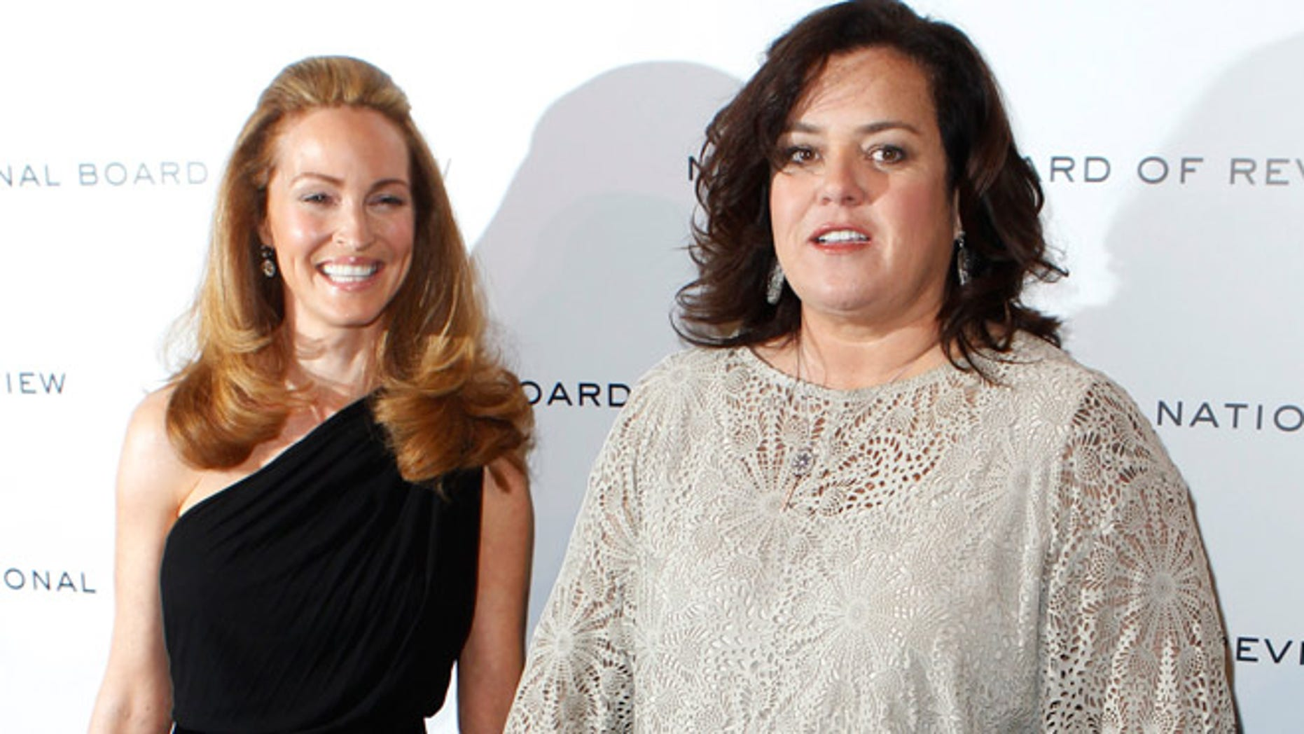 Rosie O'Donnell and Michelle Rounds.