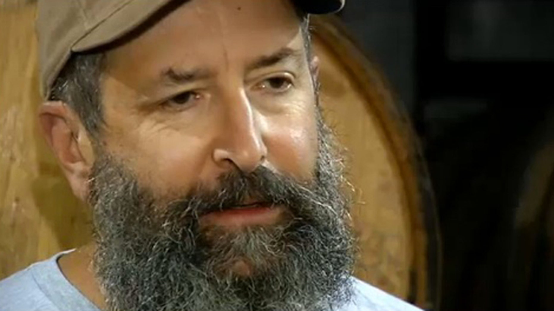 "The beard of Rogue Ales brewmaster John Maier is being used to develop the ""beard beer."""
