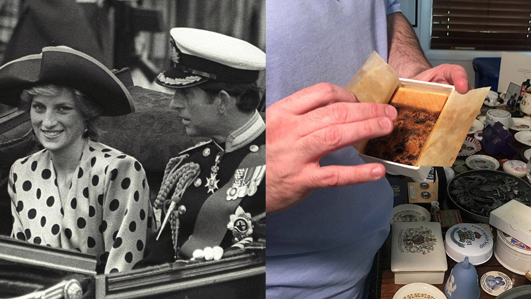 The fruitcake served at the royal weddings, such as that of Princess Diana and Prince Charles, has become something of a collector's item, too.