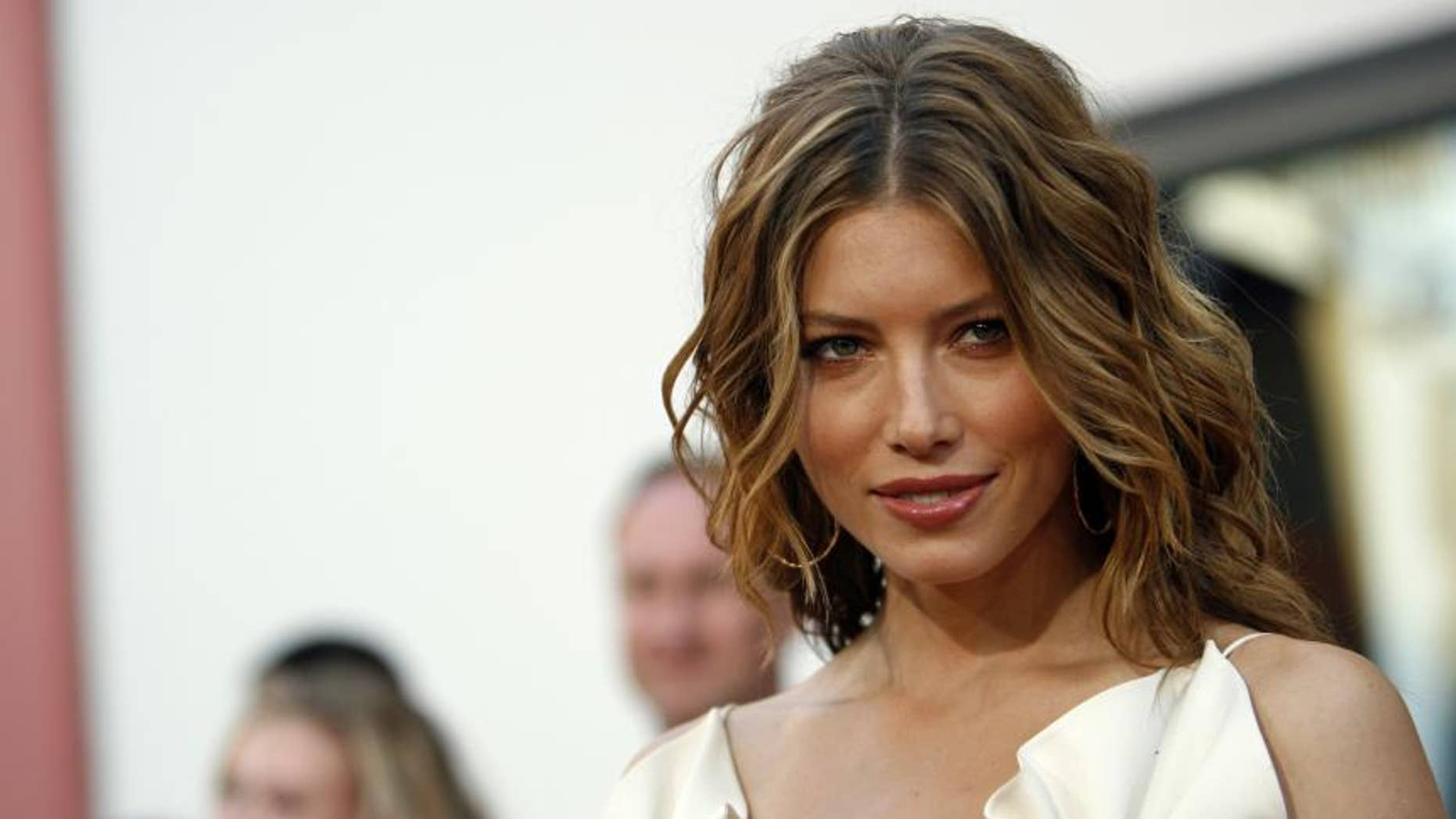 """Hubby Justin Timberlake isn't the only one to bring sexy back. Actress Jessica Biel was feature in the 2009 movie """"Powder Blue"""" as a stripper attempting to earn money for her terminally ill son. While the film went straight to DVD, Biel later said she would go naked again for the right project."""