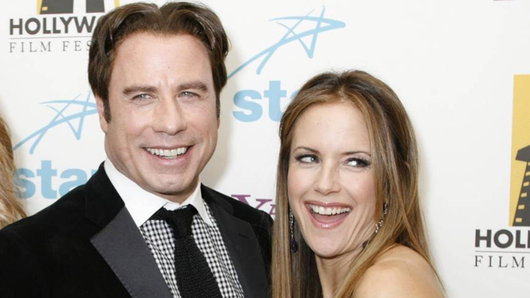 Kelly Preston her favorite parts about being married to long-time actor, John Travolta.