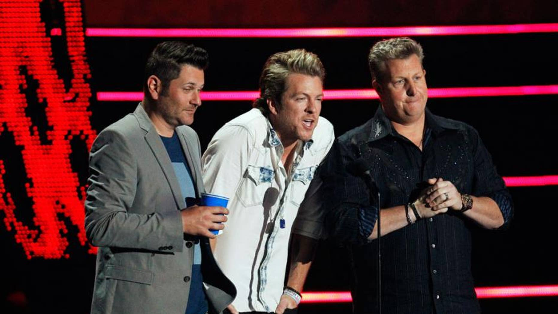 "Rascal Flatts stopped their Thursday night show in the middle of the concert citing a ""security concern."""