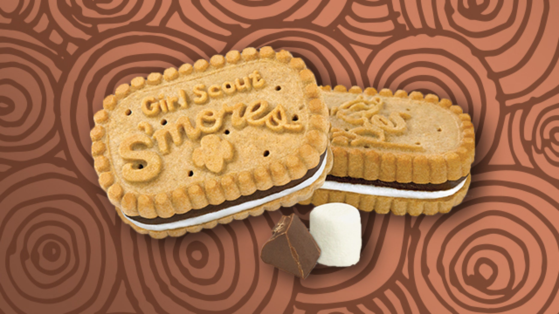 """Little Brownie Bakers' ode to s'mores is a crunchy graham sandwich cookie with creamy chocolate and a """"marshmallowy filling."""""""