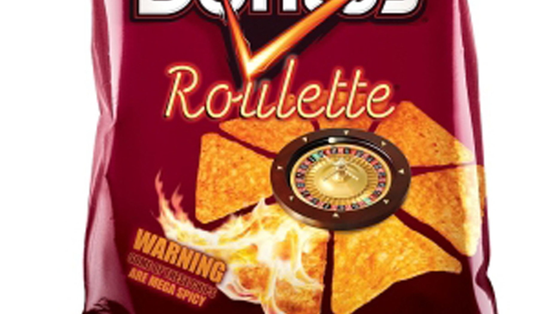 One in six Doritos Roulette chips is 10 times hotter than a jalapeno pepper.