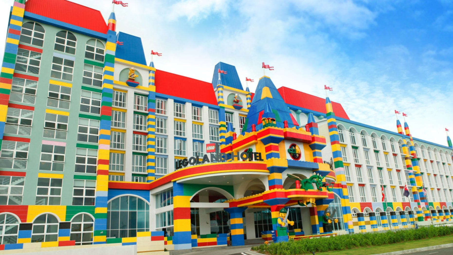 The hotel at Legoland Malaysia.