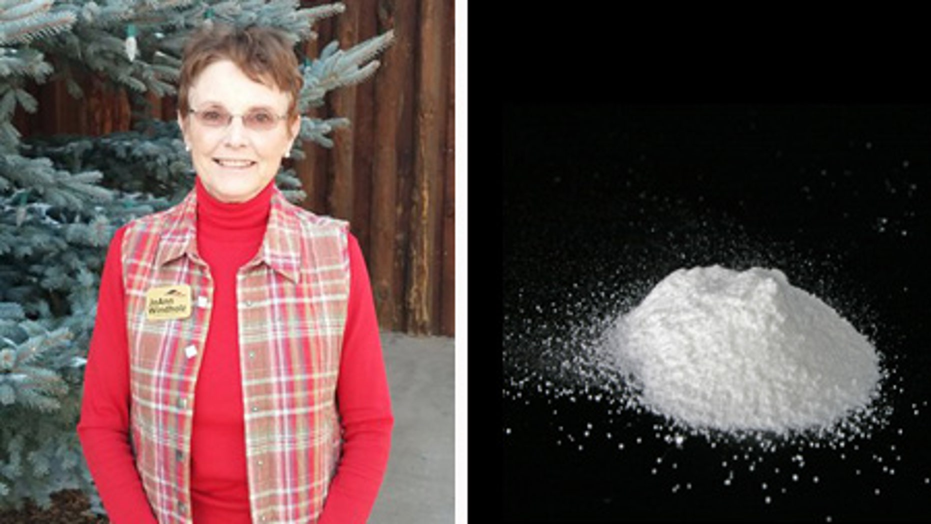 Republican Rep. JoAnn Windholz is pictured in Larkspur, Colo. In the session that begins in Jan. 2015, Rep. Windholz is introducing a bill to ban the product Palcohol, which is alcohol in powdered form, before the product goes on sale out of concern it will increase underage drinking.