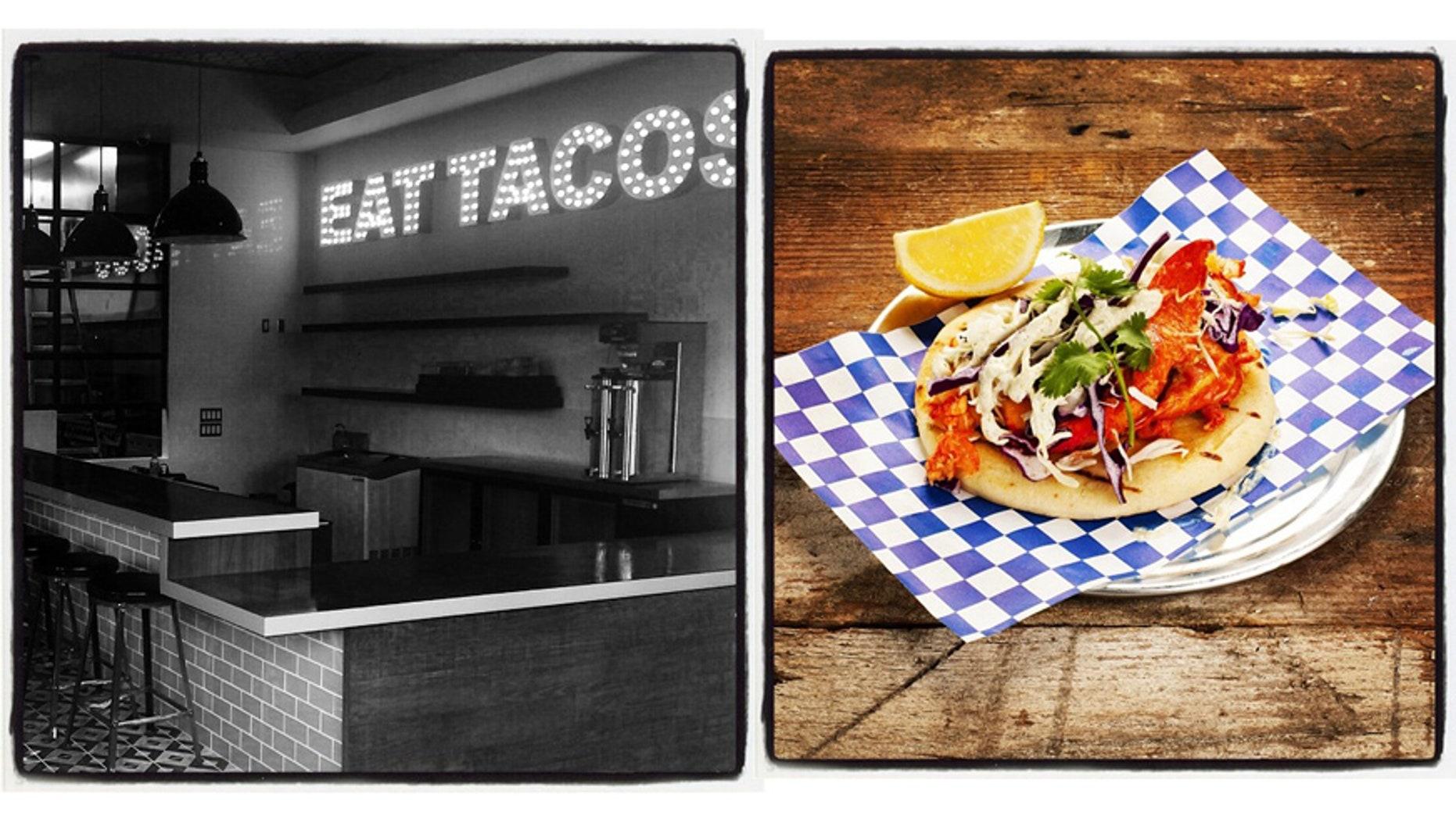 Introducing a fancier way to eat tacos.