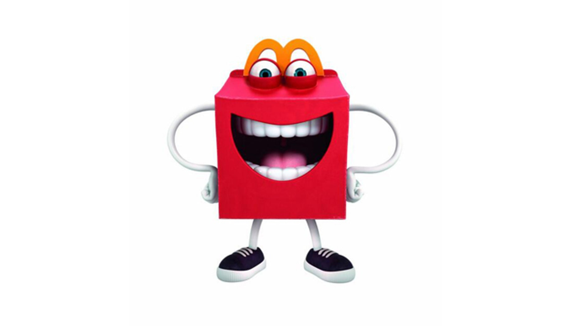 "New McDonald's mascot ""Happy"" might be too much."