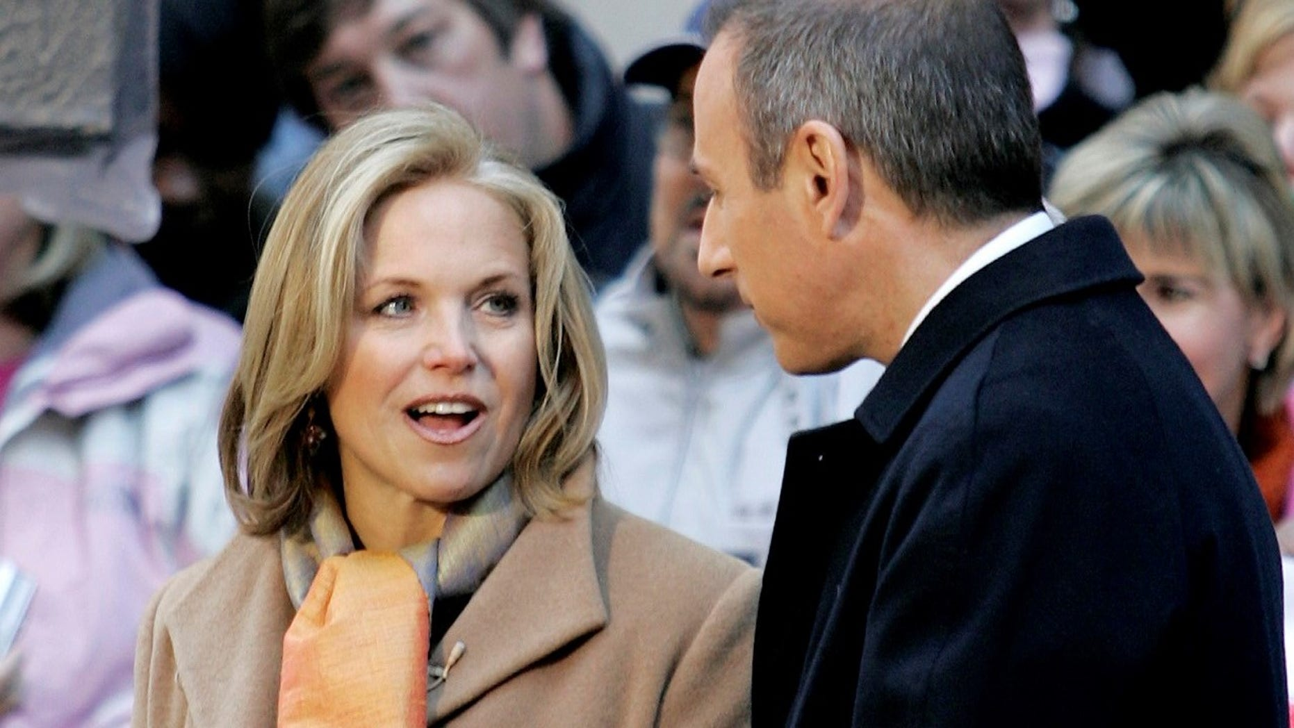 """Katie Couric said in a 2012 interview Matt Lauer pinched her """"on the ass a lot."""""""