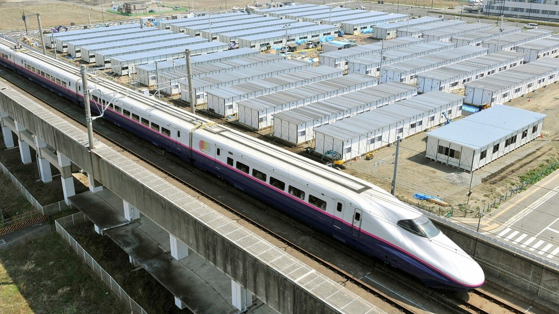 A train line in Japan (not pictured) apologized on Tuesday for departing from the station 20 seconds early.